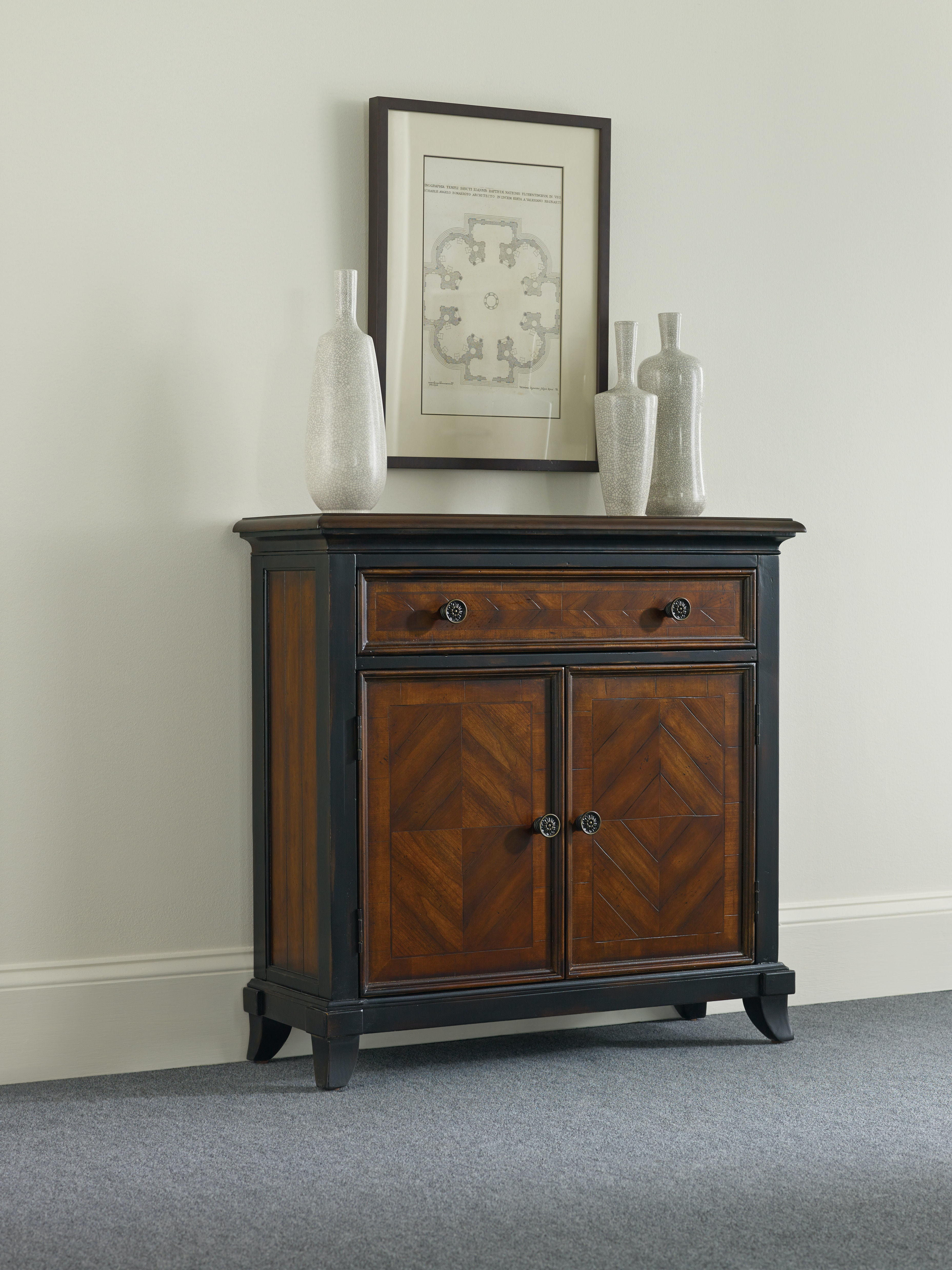 Hooker Furniture Wingate One Drawer Two Door Chest 593 50 003