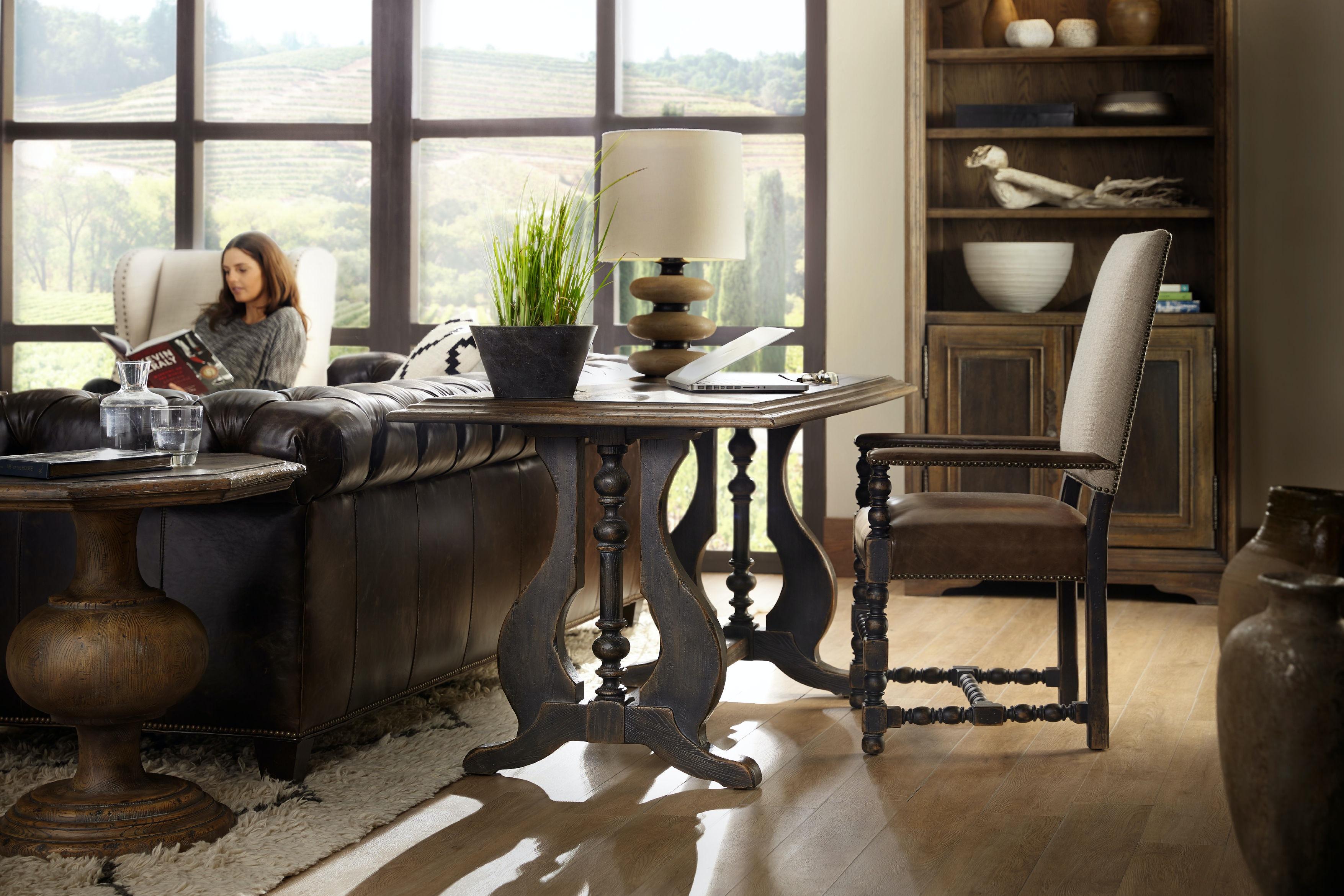 Hooker Furniture Dining Room Comfort Upholstered Arm Chair 5960 ...