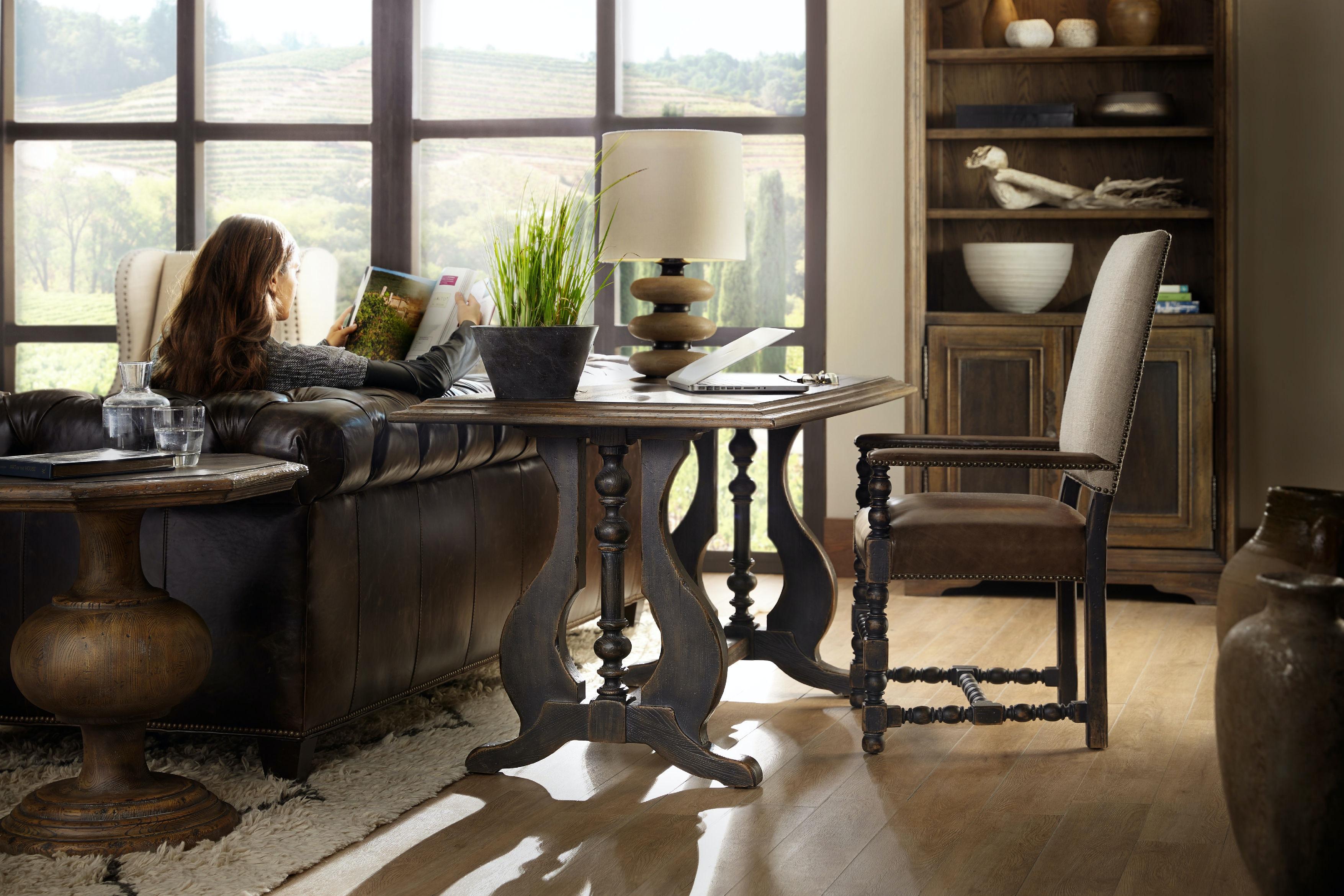 hooker furniture living room mason end table 5960 80116 multi hooker furniture mason end table 5960 80116 multi