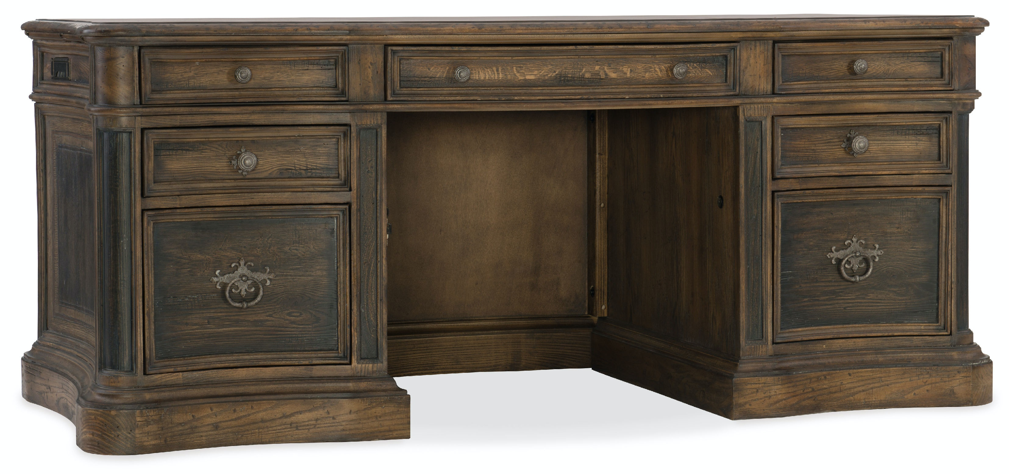 Hooker Furniture St. Hedwig Executive Desk 5960 10563 MULTI