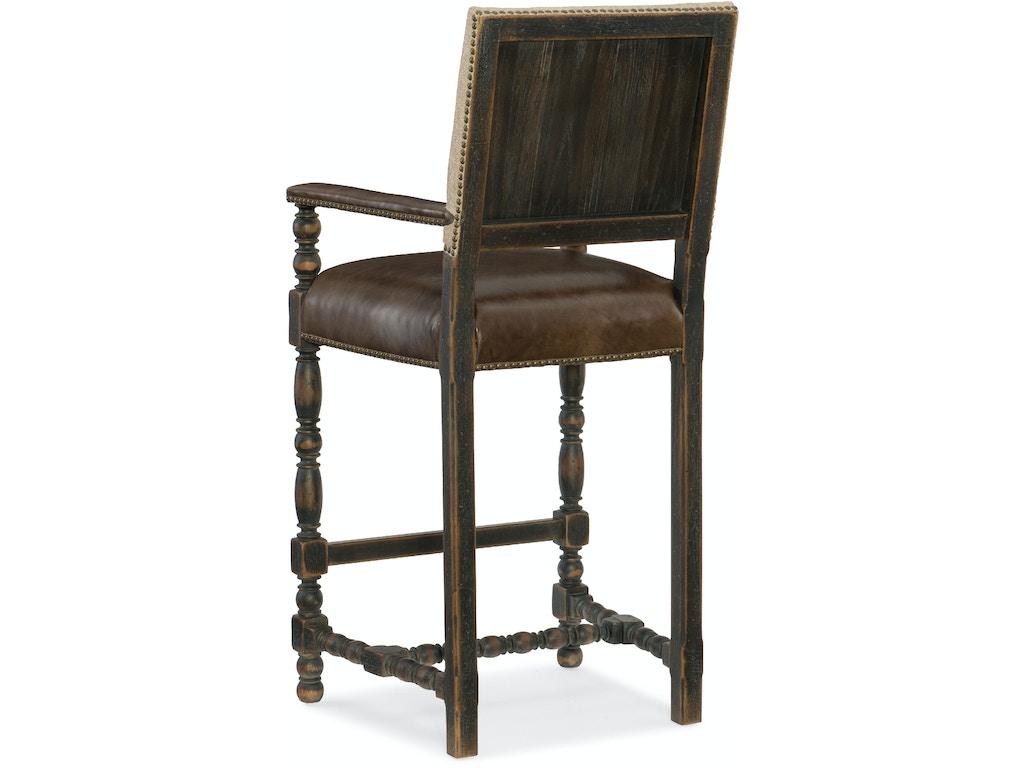 Hooker Furniture Dining Room Comfort Barstool 5960 20360