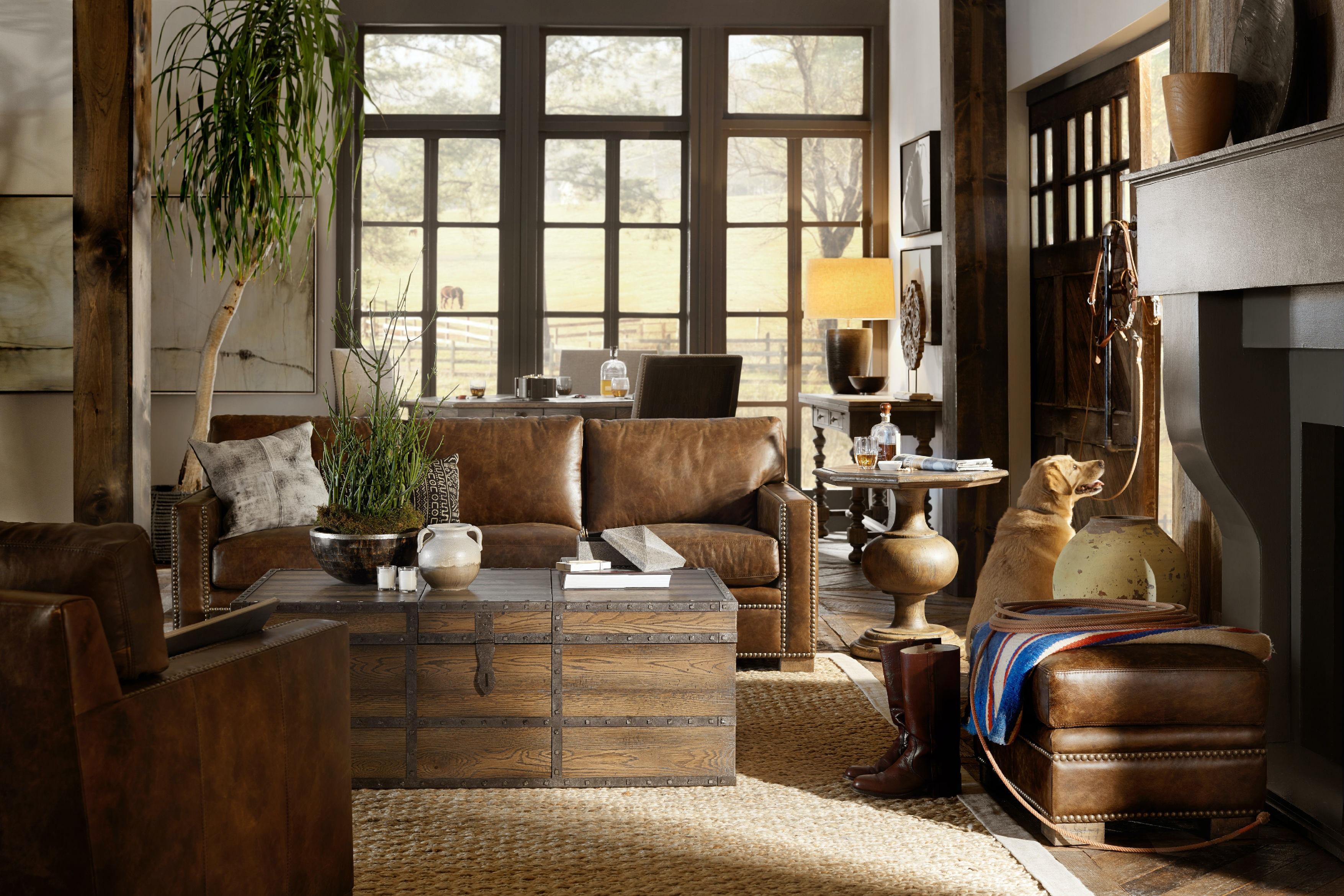 hooker furniture mason end table