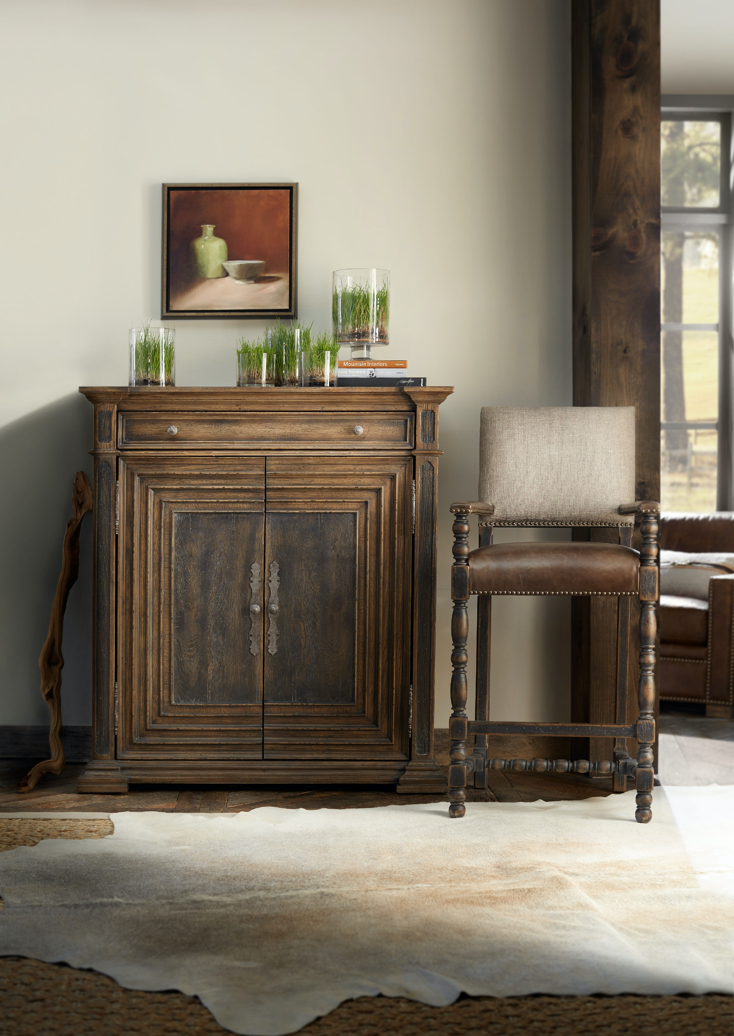 Hooker Furniture Cypress Mill Accent Chest 5960 50007 MULTI