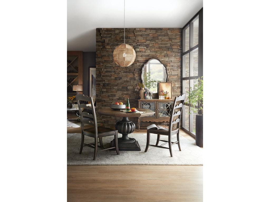 Blanco 46in foyer dining table 5960 50009 multi for Foyer area furniture