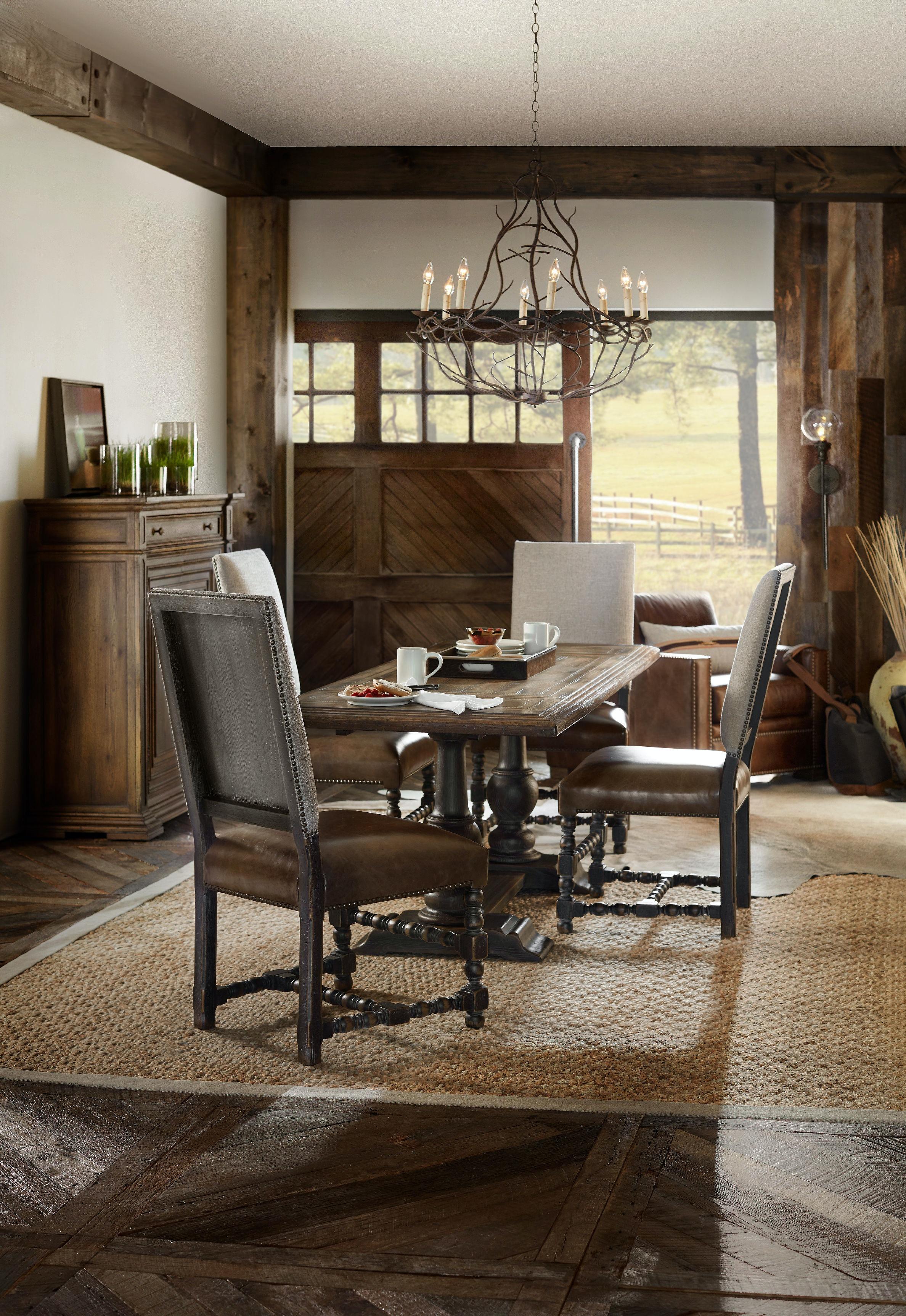 Hooker Furniture Dining Room Comfort Upholstered Side Chair 5960 ...
