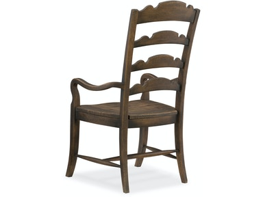 Hooker Furniture Dining Room Twin Sisters Ladderback Arm
