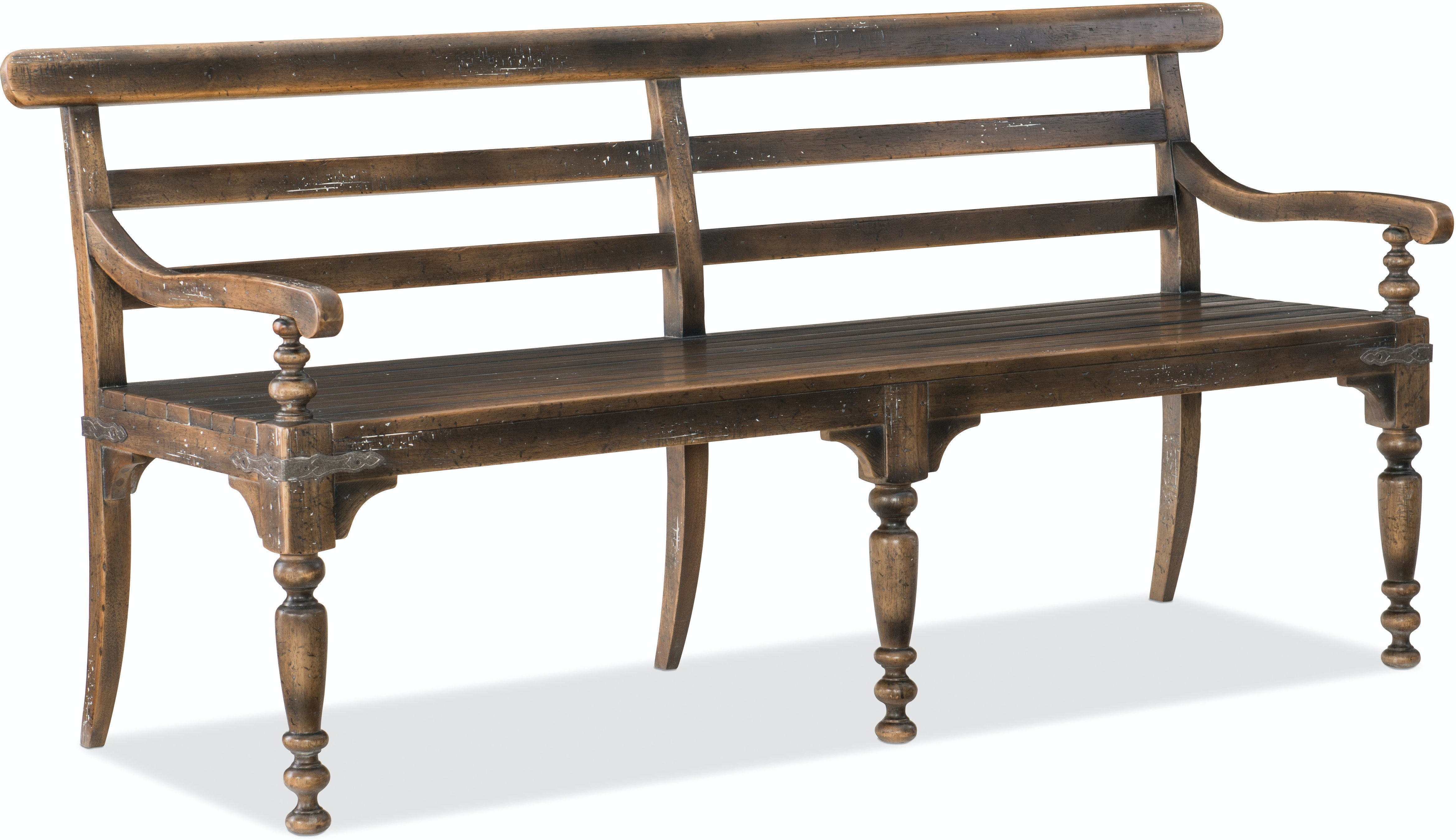 country inch quot rectangular brothers dining oak rustic room bench benches mathis in broy furniture