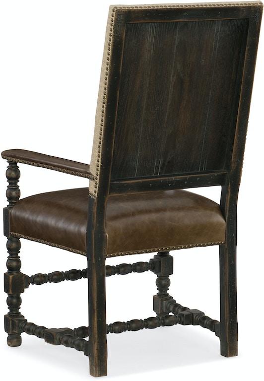 Hooker Furniture Dining Room Comfort Upholstered Arm Chair