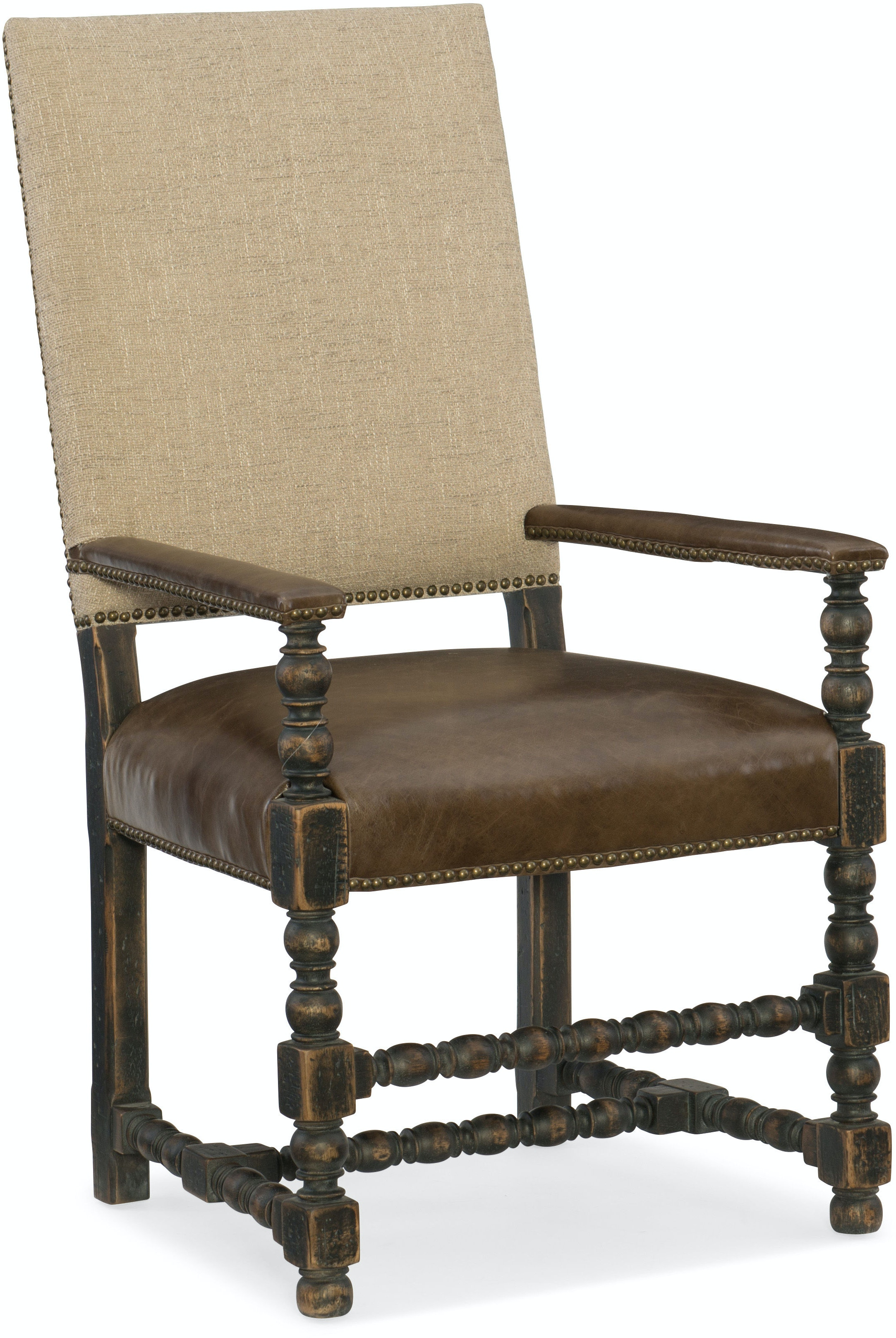 Hooker Furniture Dining Room fort Upholstered Arm Chair 5960