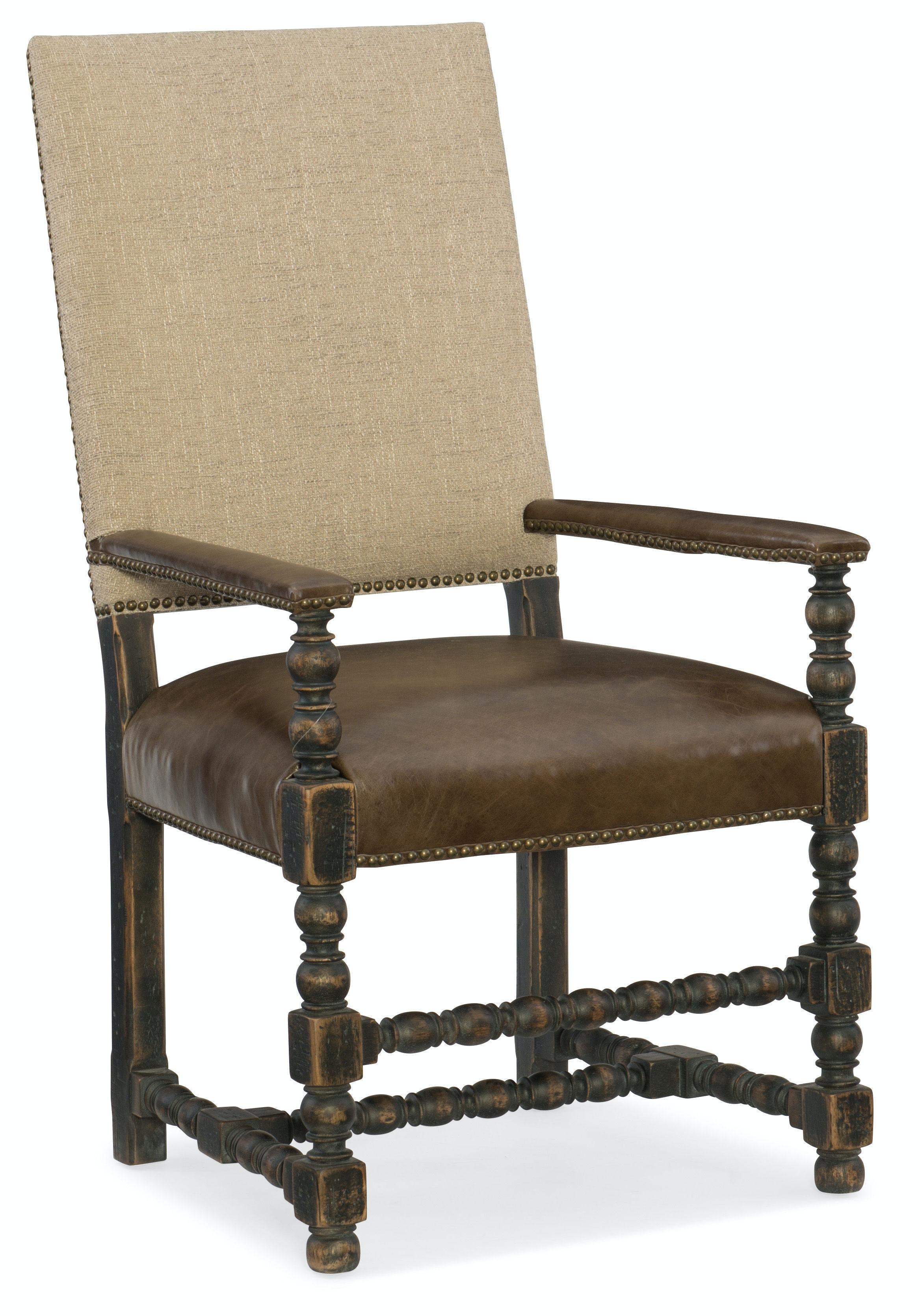hooker furniture comfort upholstered arm chair