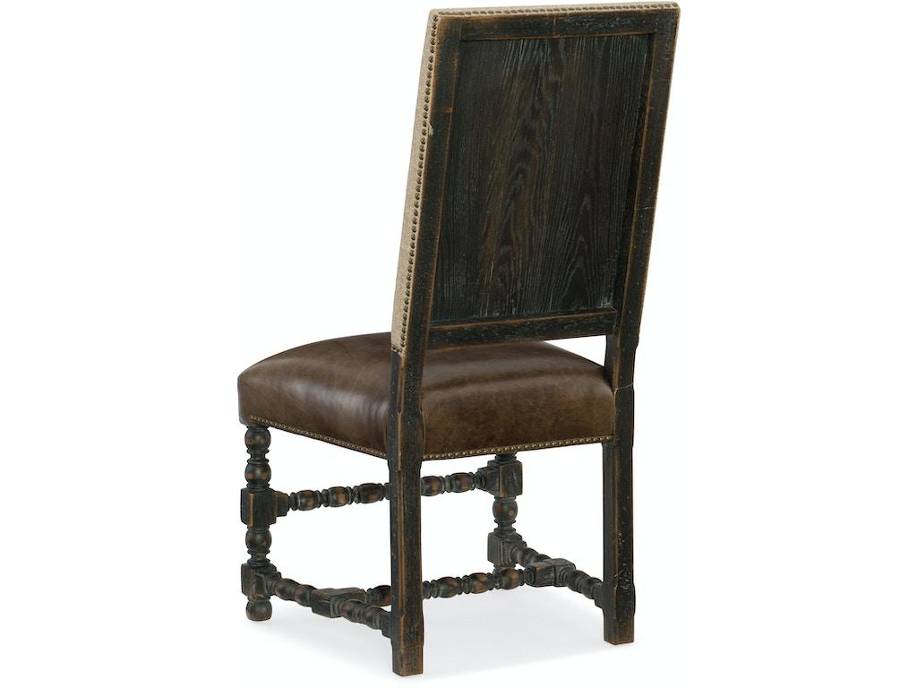 Hooker furniture dining room comfort upholstered side for Furniture upholsterer