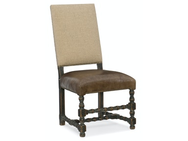 Comfort Upholstered Side Chair 5960-75410-BLK