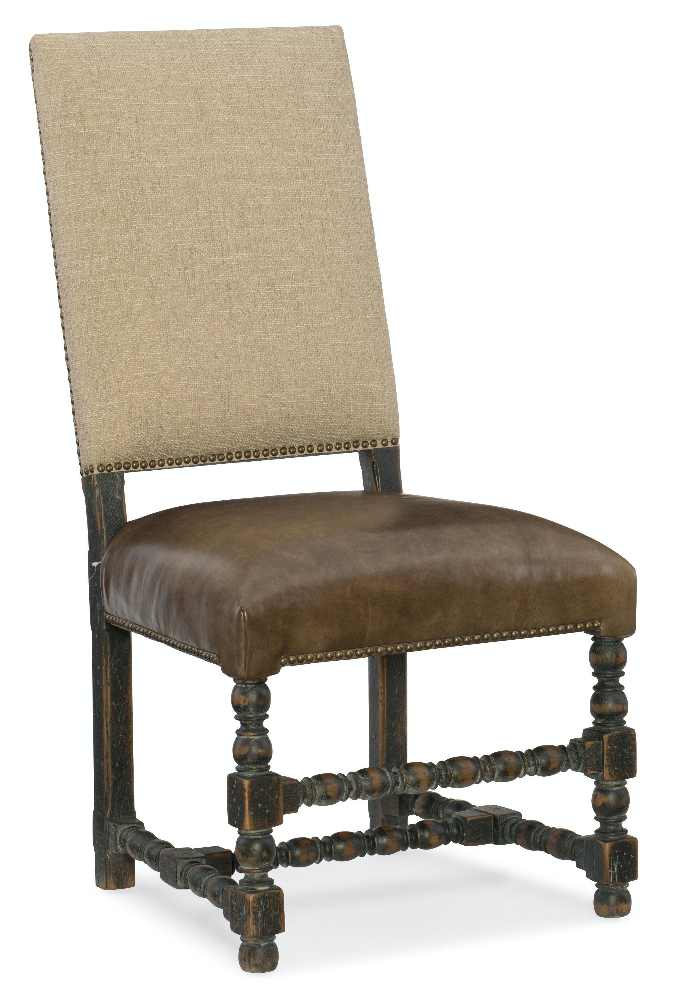 Hooker Furniture Comfort Upholstered Side Chair 5960 75410 BLK