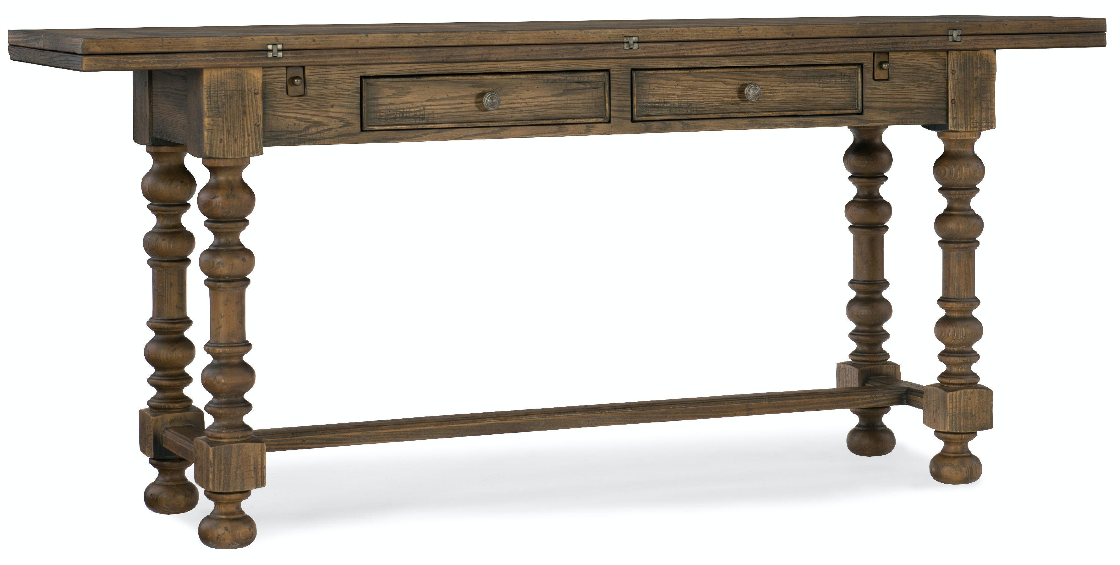 Hooker Furniture Living Room Bluewind FlipTop Console Table 5960