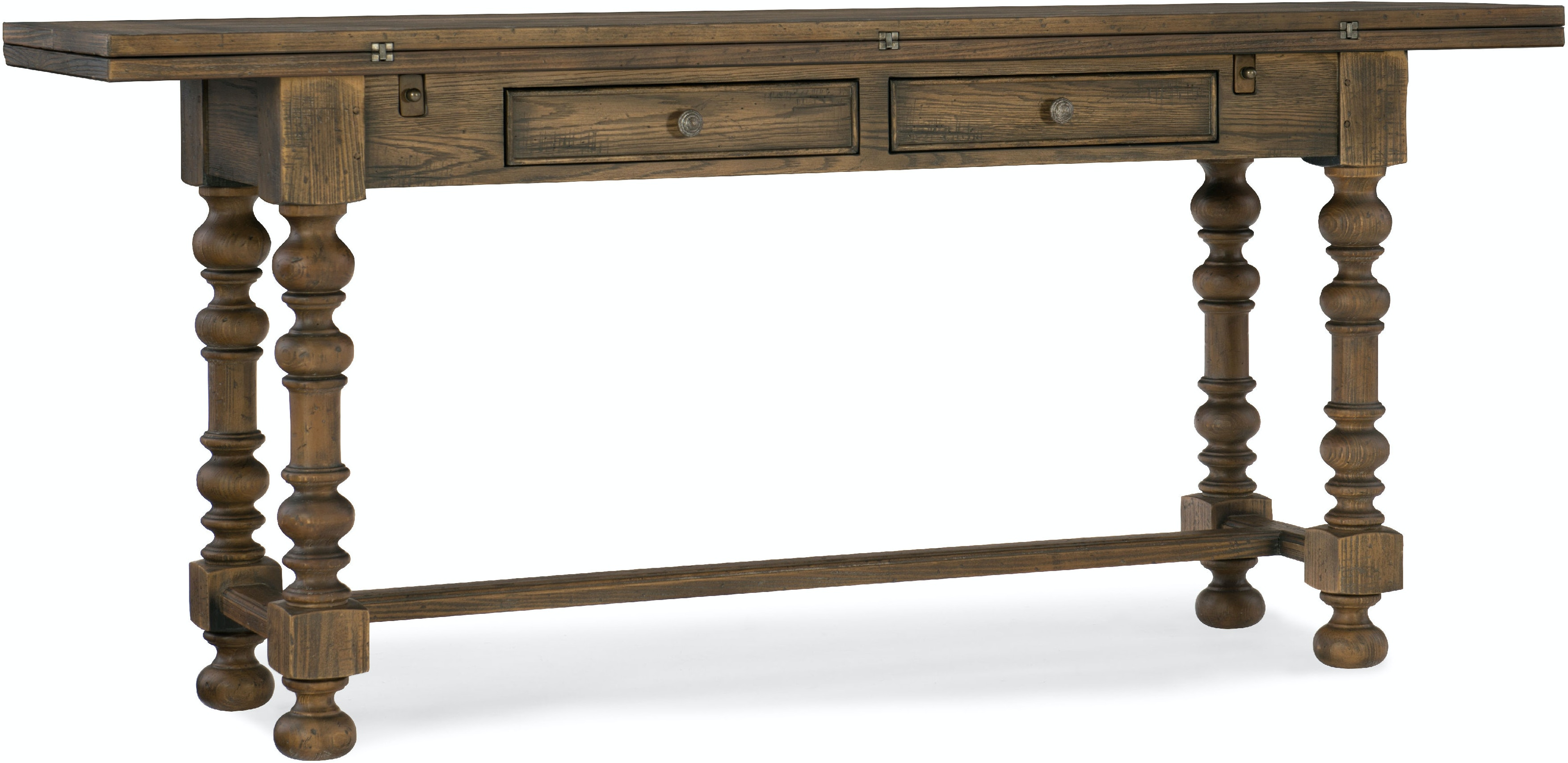 Hooker furniture living room bluewind flip top console table 5960 hooker furniture bluewind flip top console table 5960 85001 brn geotapseo Image collections