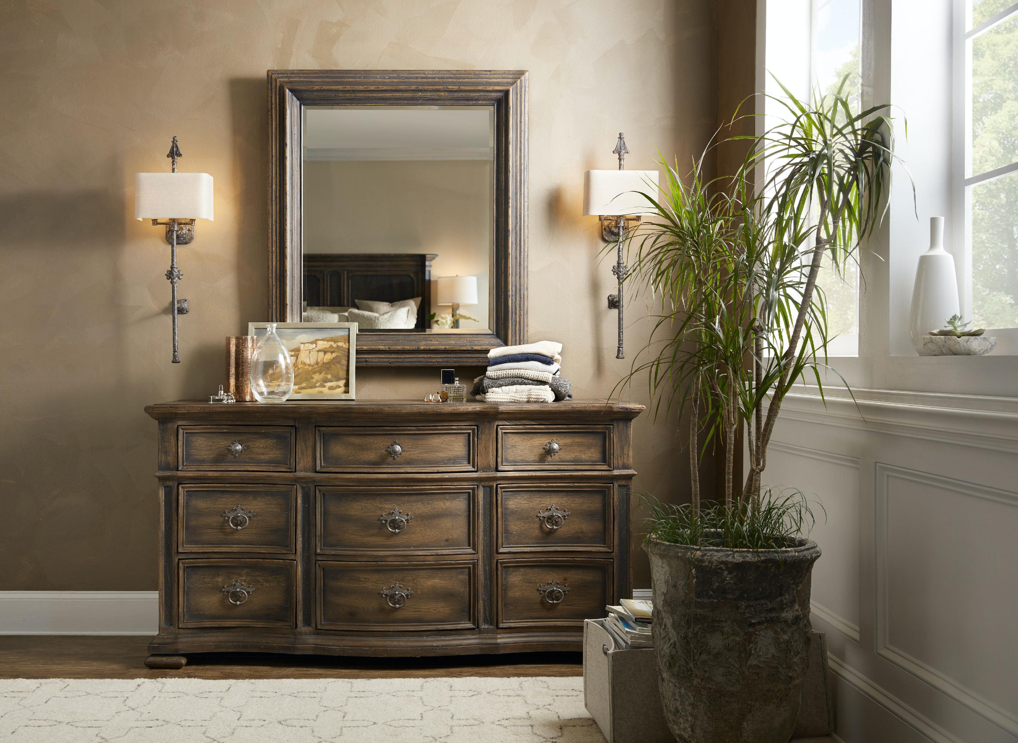 Hooker Furniture Mico Mirror 5960 90004 BLK