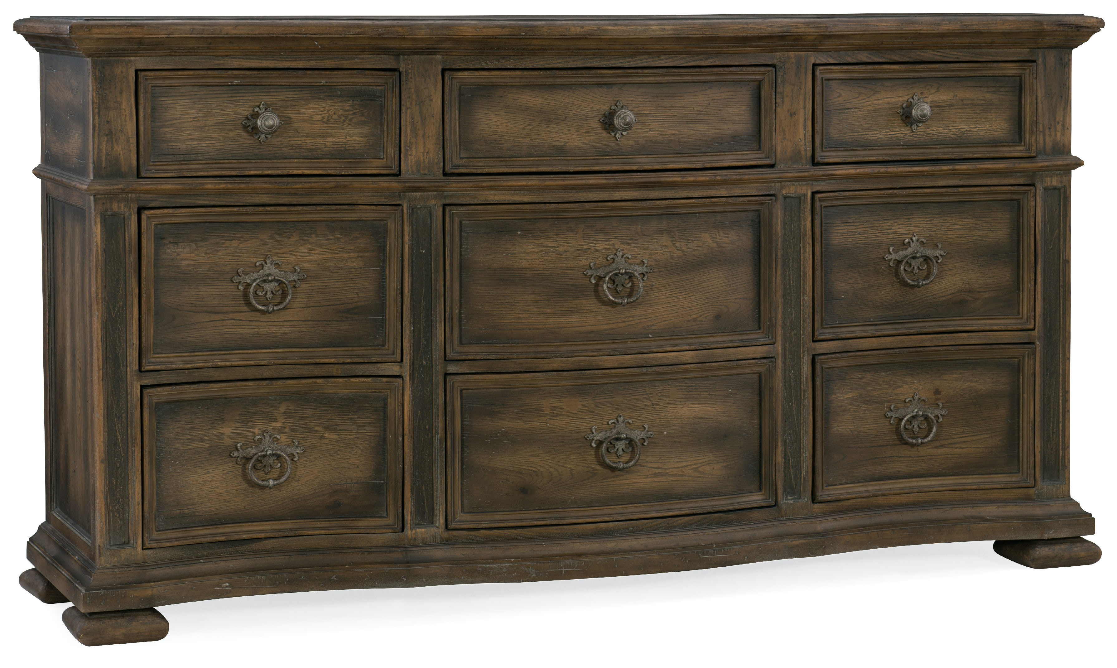 Top Hooker Furniture Bedroom Williamson Nine-Drawer Dresser 5960-90002  QZ43