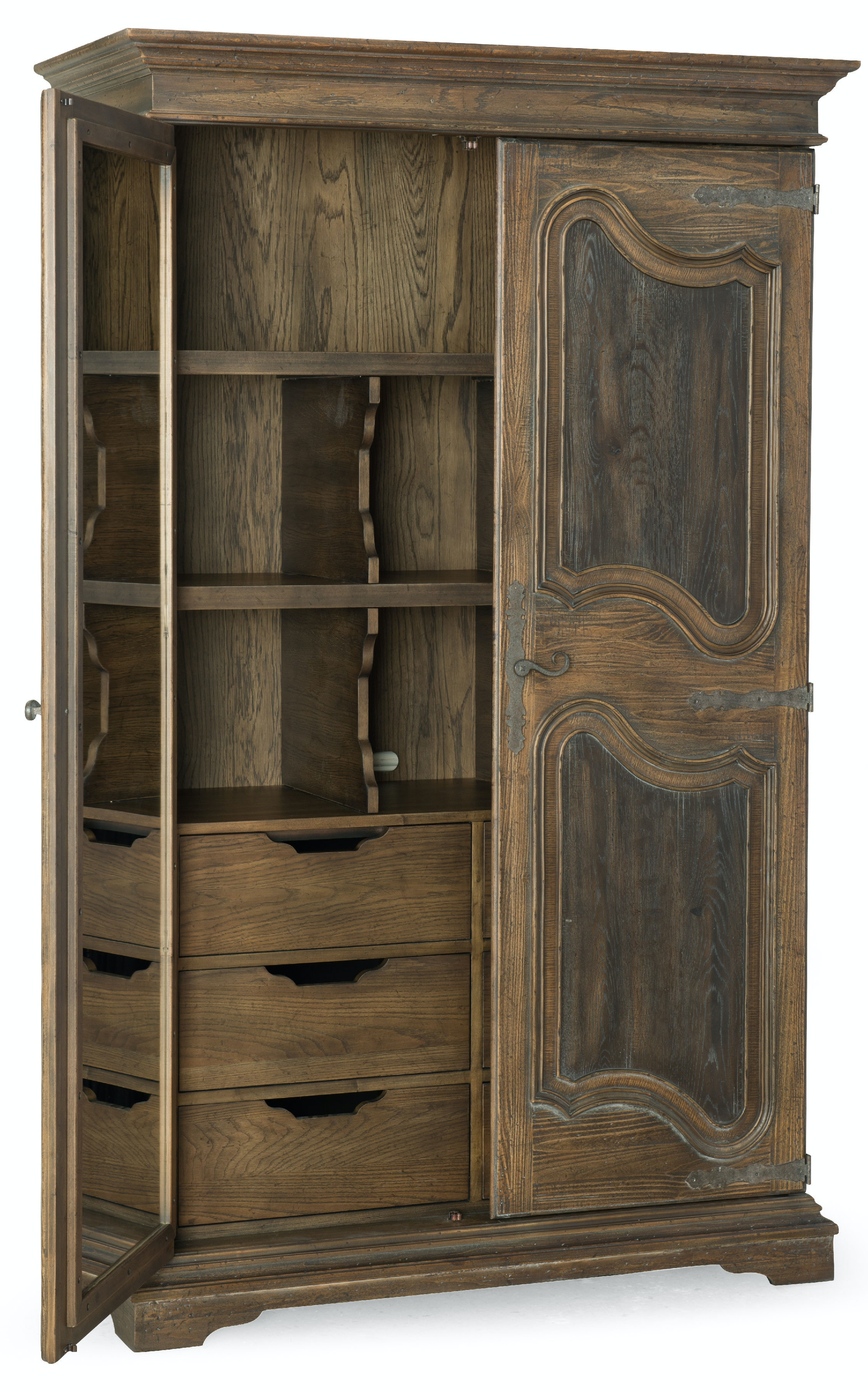 Hooker Furniture Bedroom Lakehills Wardrobe 5960 90013