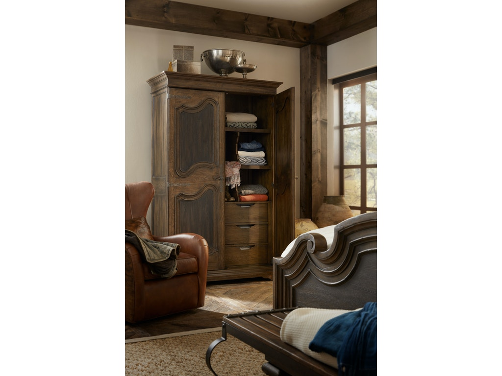 Hooker Furniture Bedroom Lakehills Wardrobe 5960 90013