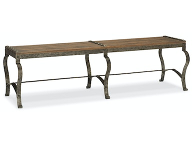 Hooker Furniture Ozark Bed Bench 5960-90019-MTL