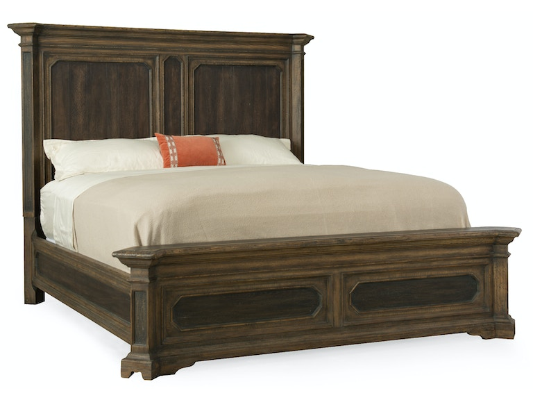 Hooker Furniture Woodcreek King Mansion Bed 5960-90266-MULTI