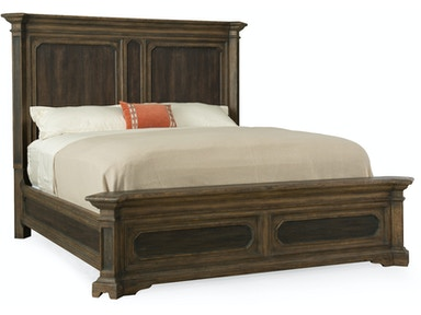 Woodcreek King Mansion Bed 5960-90266-MULTI