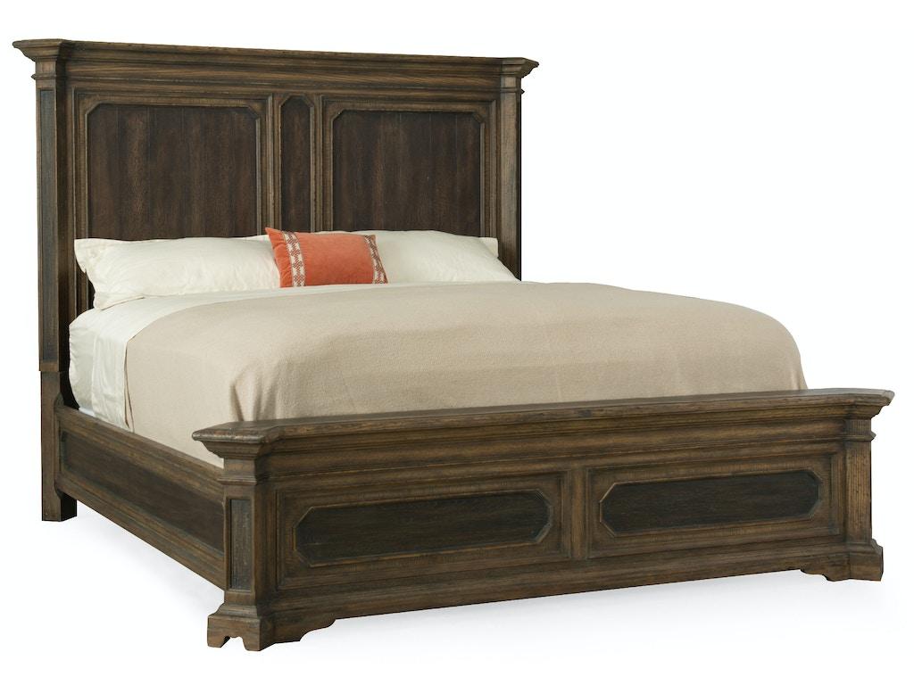 Hooker Furniture Bedroom Woodcreek Queen Mansion Bed 5960