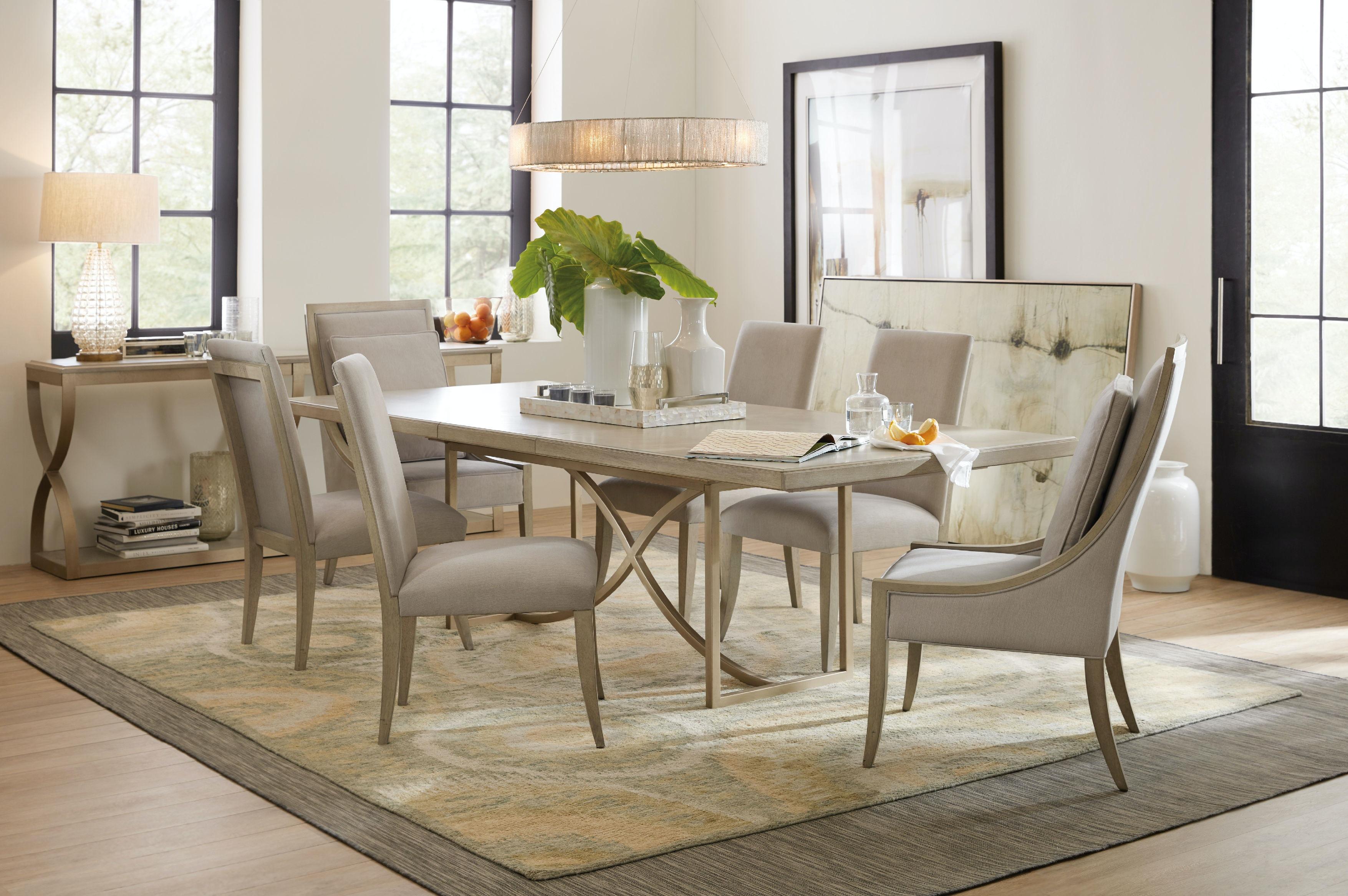 Hooker Furniture Dining Room Elixir Host Chair 5990-75500-LTWD