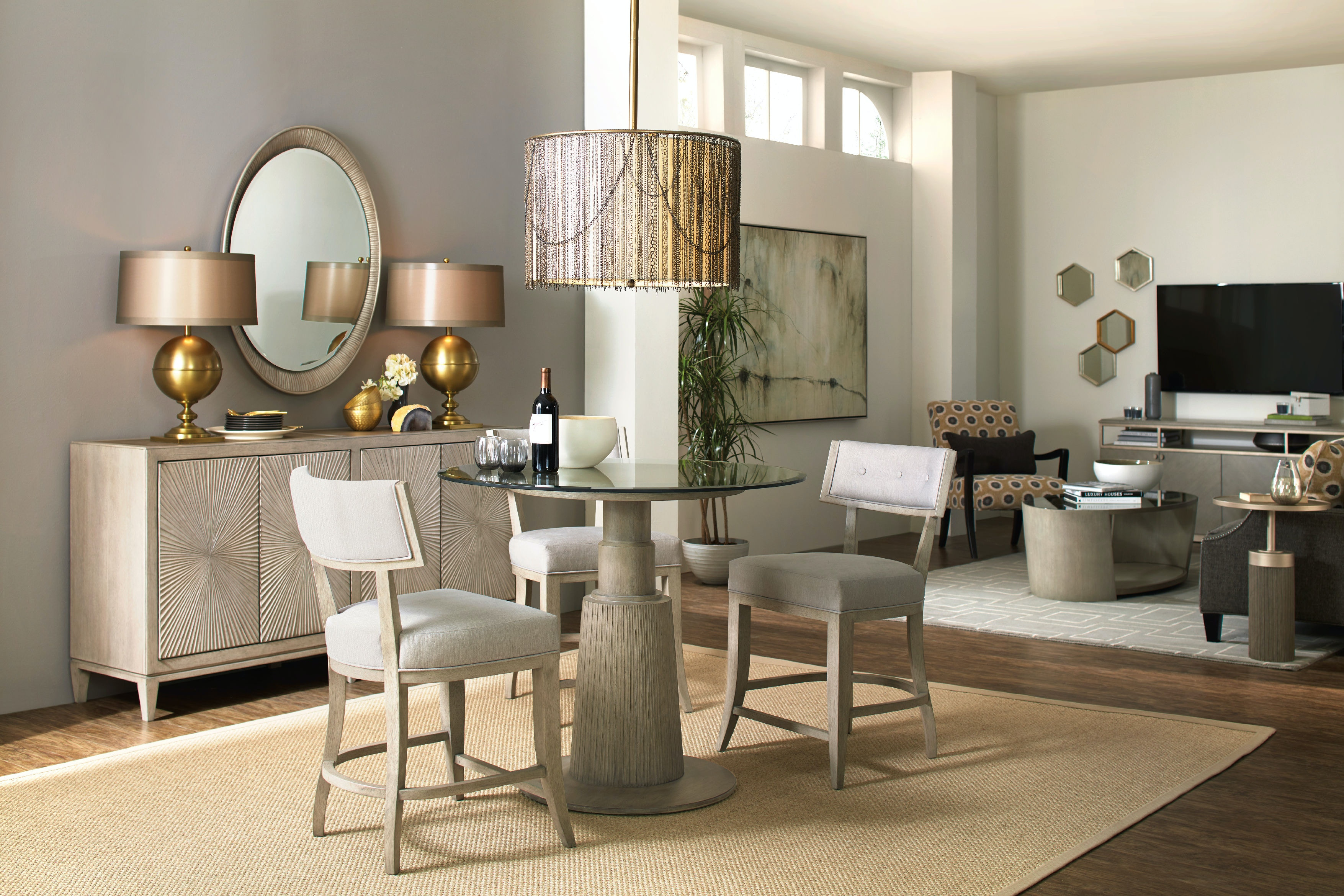 Hooker Furniture Elixir Round Dining Table 42in 5990 75203 42