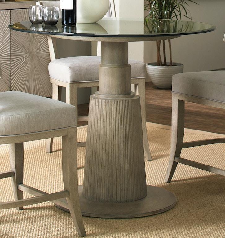 Hooker Furniture Dining Room Elixir Round Dining Table 42in 5990 75203 42 Maynard S Home