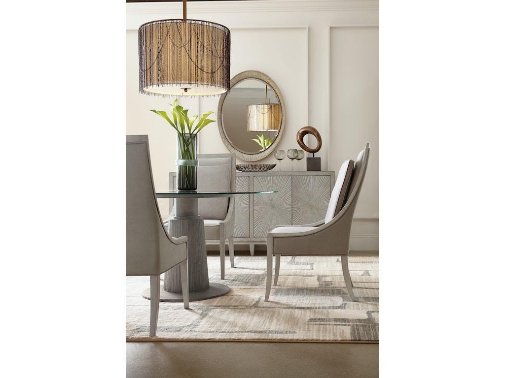 Hooker furniture dining room elixir host chair 5990 75500 for Hooker furniture
