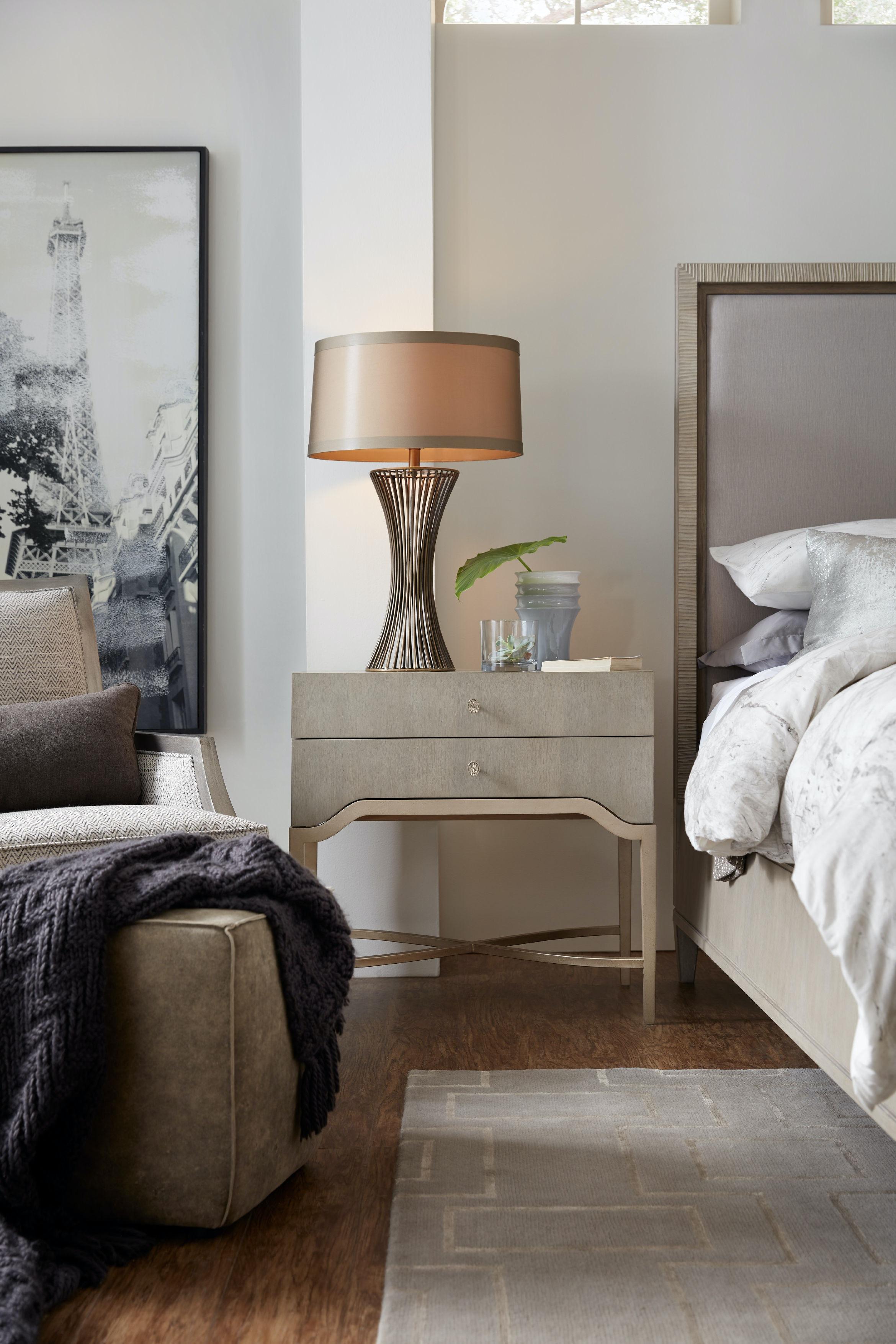 Hooker Furniture Bedroom Elixir Two Drawer Nightstand 5990
