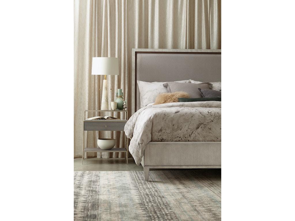 Hooker Furniture Bedroom Elixir King Upholstered Bed 5990 90866 Multi Seaside Furniture Toms