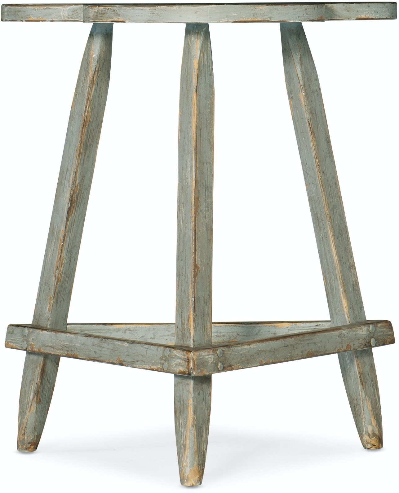 Hooker Furniture Living Room Alfresco Trifoglio Accent Table ...