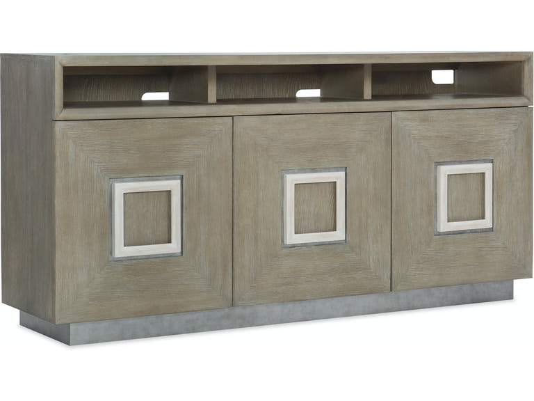 Hooker Furniture Affinity Entertainment Console 6050-55470-GRY