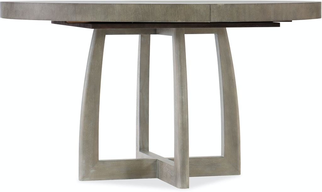 Hooker Furniture Dining Room Affinity 48in Round Pedestal Dining