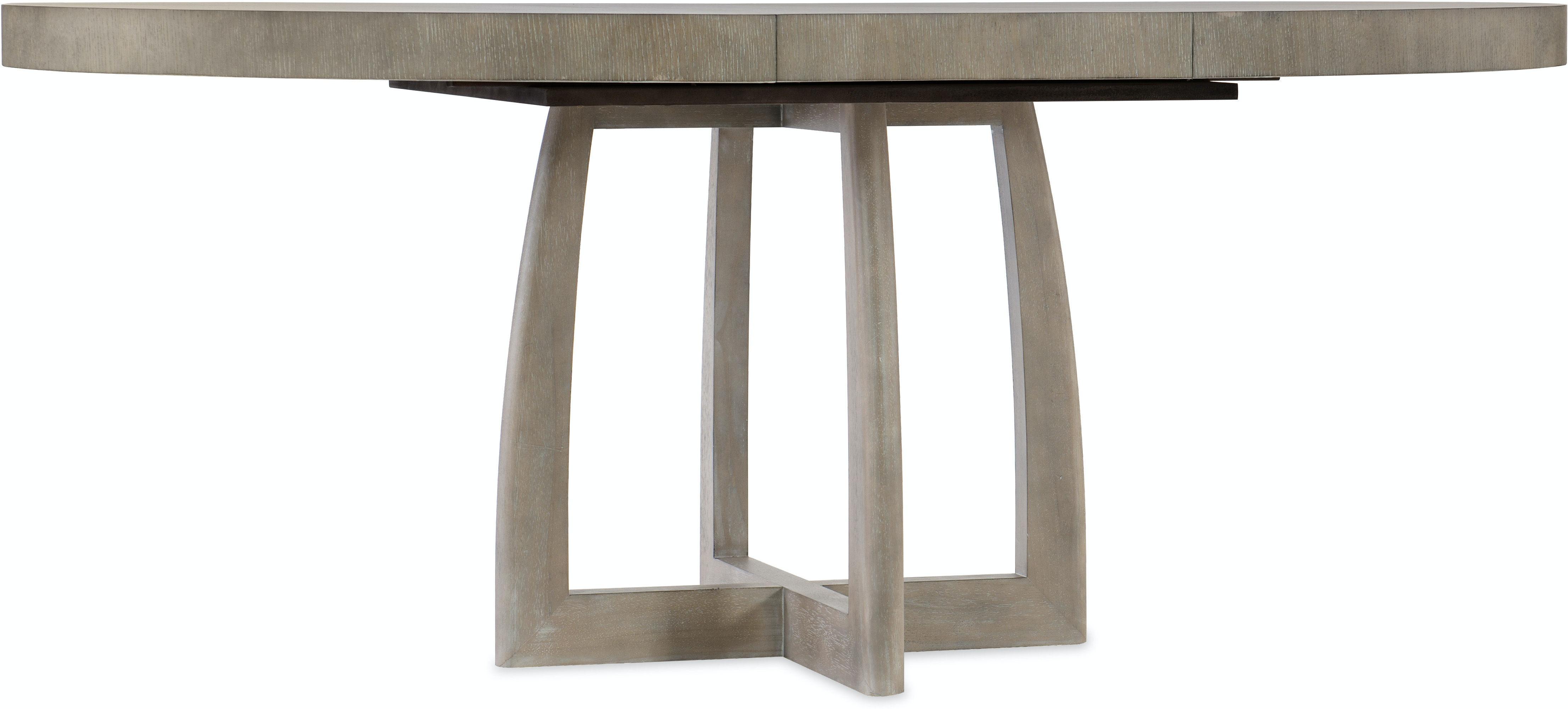 Hooker Furniture Dining Room Affinity 9in Round Pedestal Dining ...