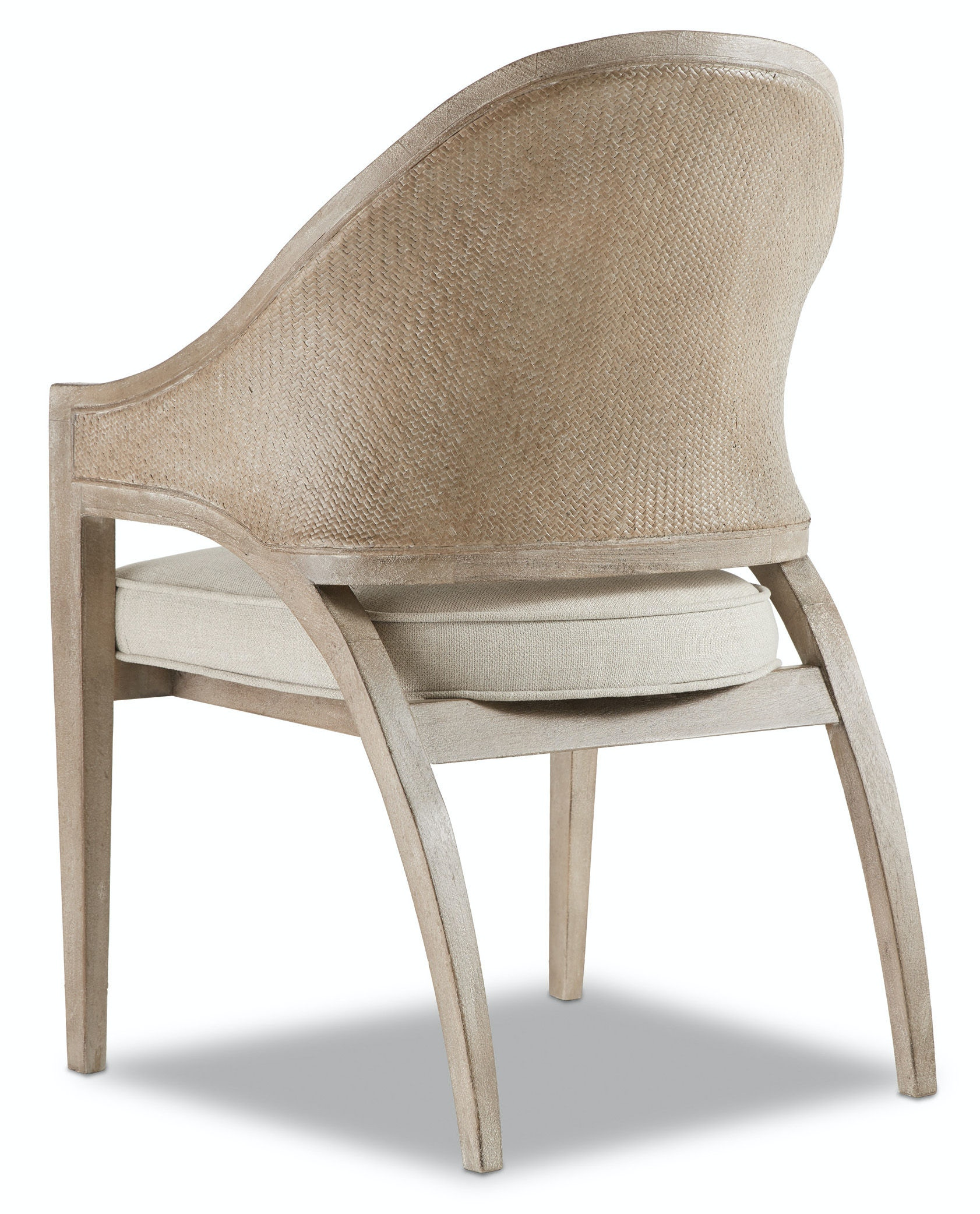Attrayant Hooker Furniture Affinity Sling Back Chair   Raffia Back 6050 75501 GRY
