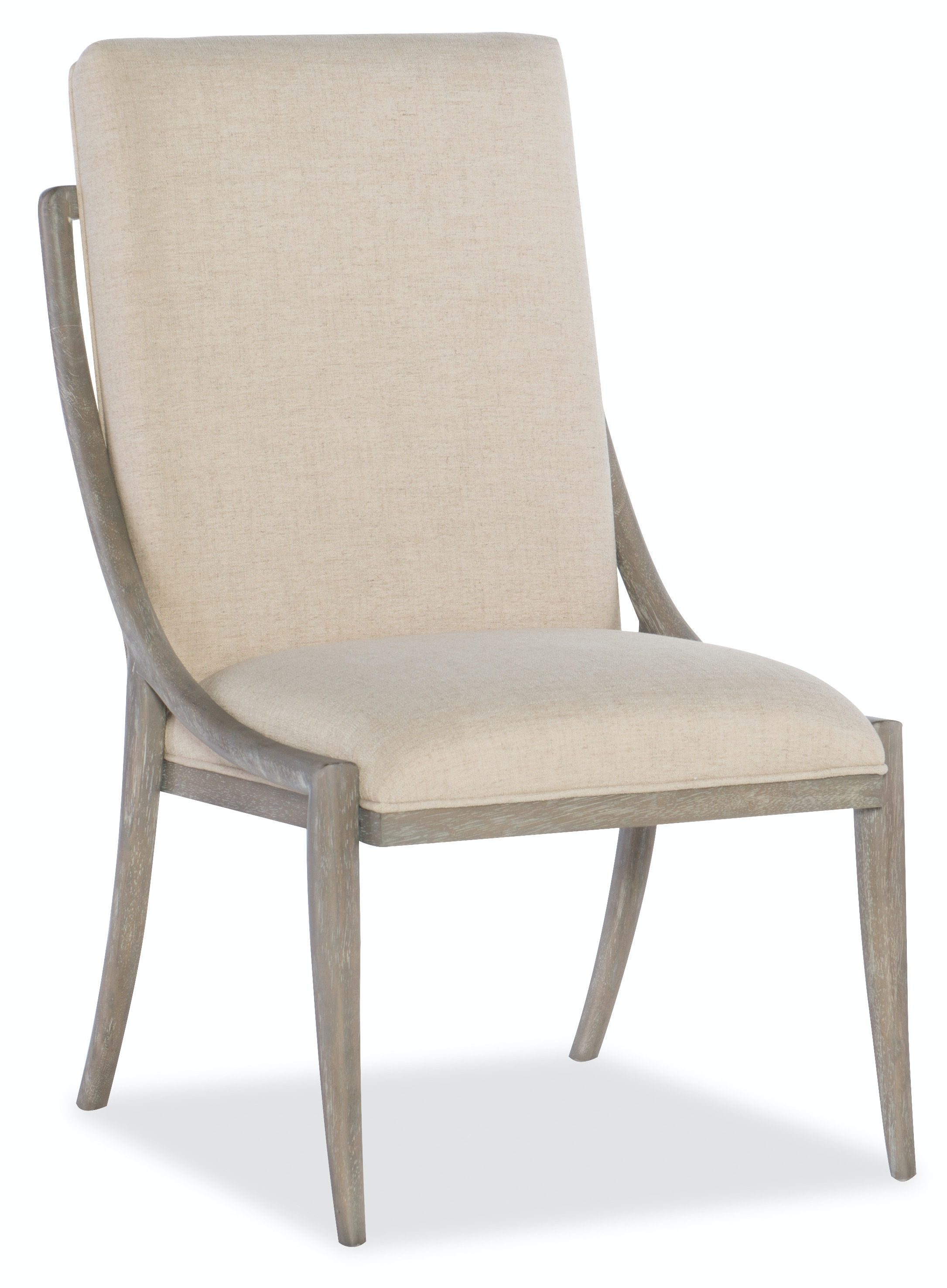 Hooker Furniture Affinity Slope Side Chair 6050 75510 GRY