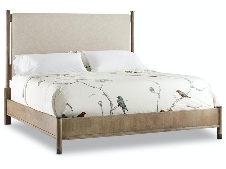 Hooker Furniture Bedroom Affinity King Upholstered Bed