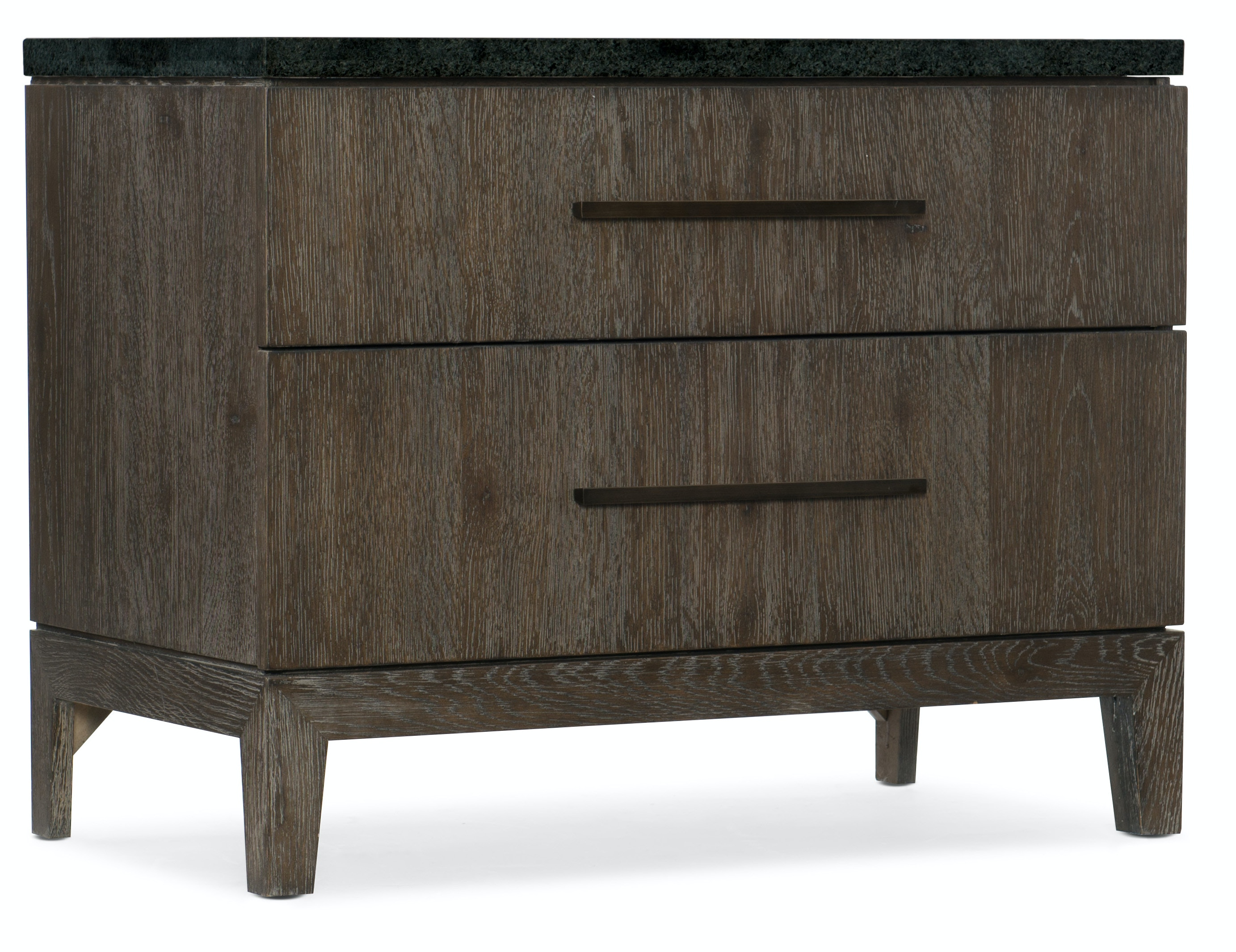 Hooker Furniture Miramar Aventura San Marcos Stone Top Nightstand  6202 90015 DKW