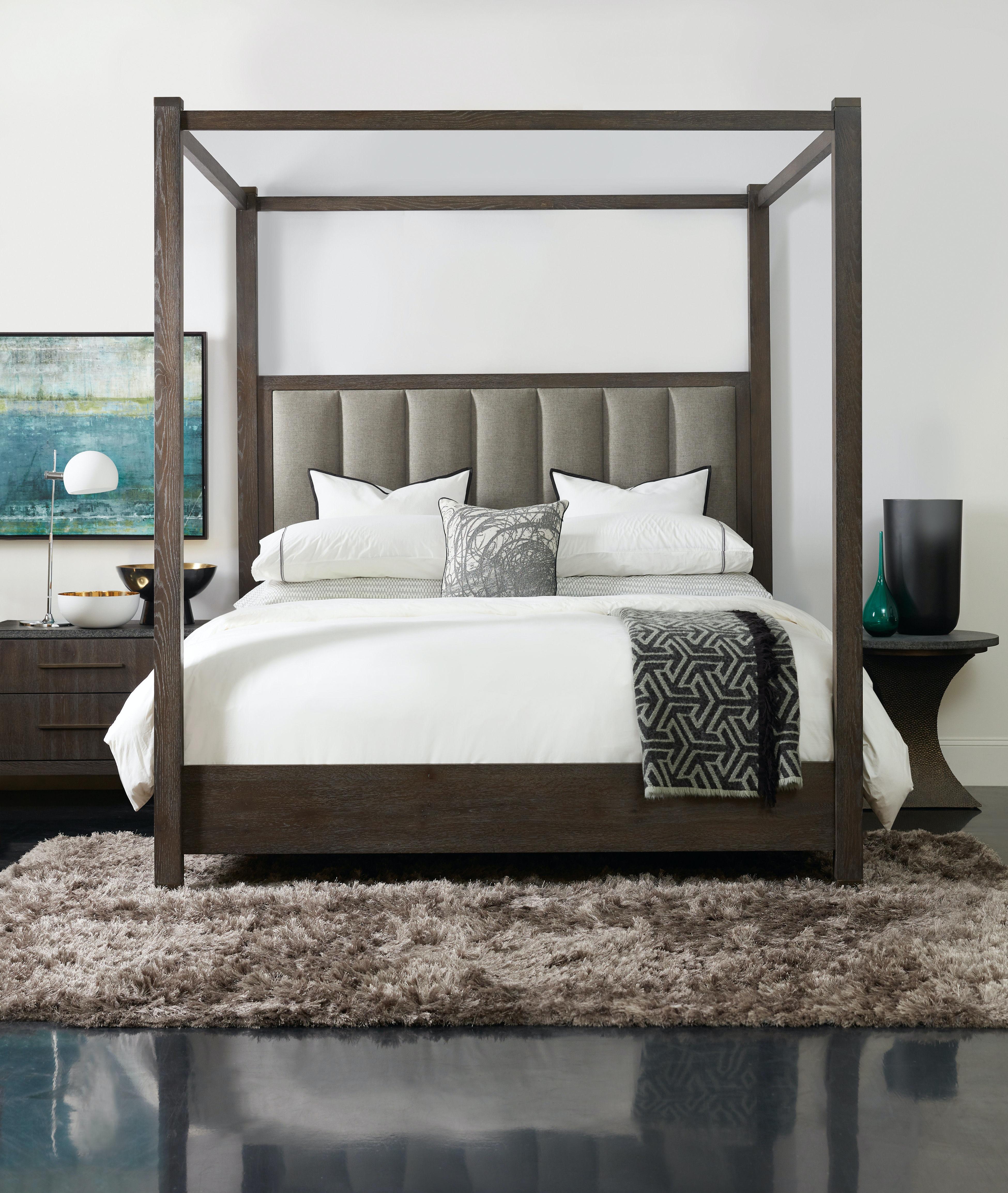 High Quality Hooker Furniture Miramar Aventura Jackson Queen Poster Bed W Tall Posts U0026  Canopy 6202