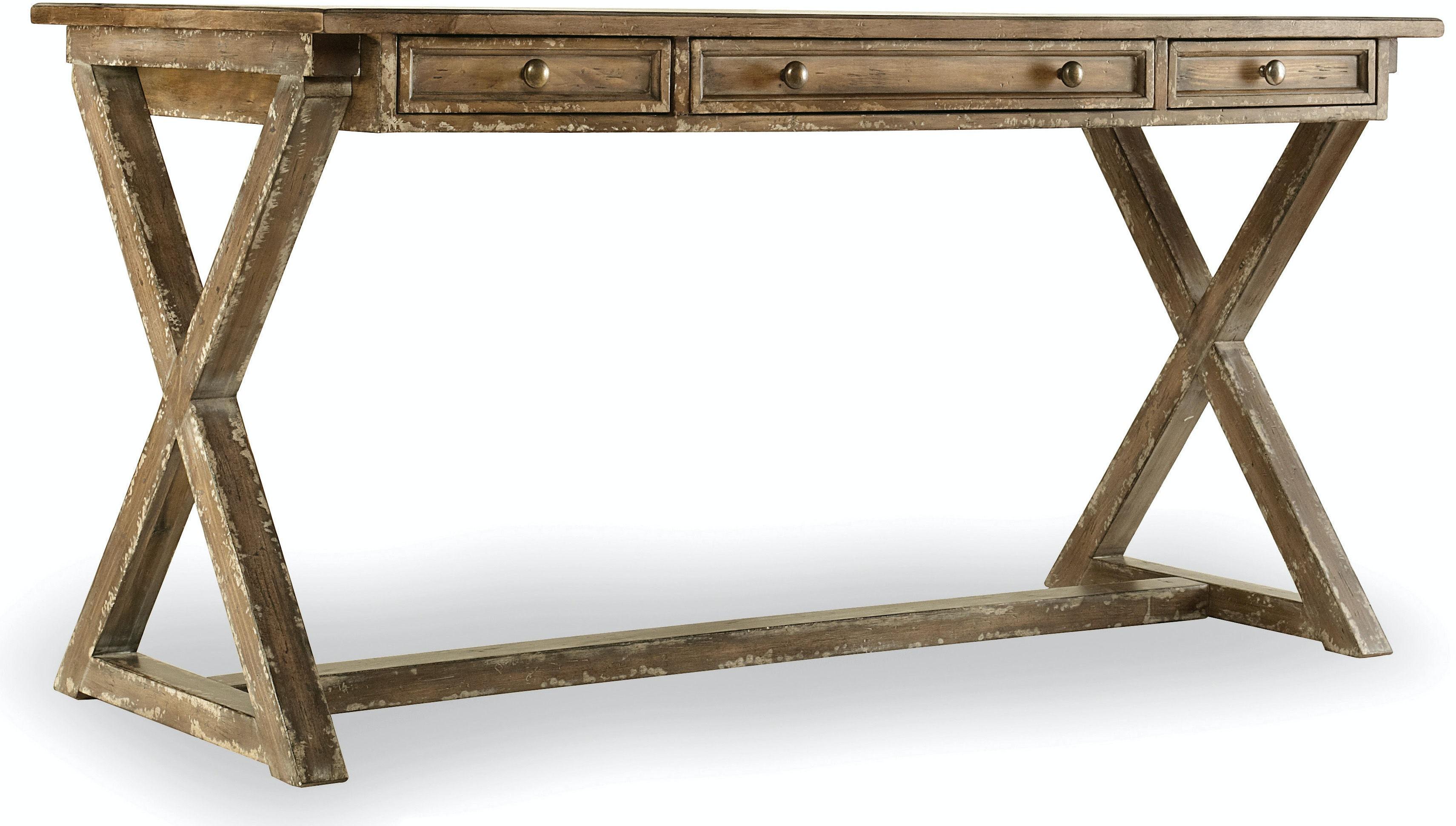 Hooker Furniture Home Office Melange Bennett X-Base Writing Desk 638 ...