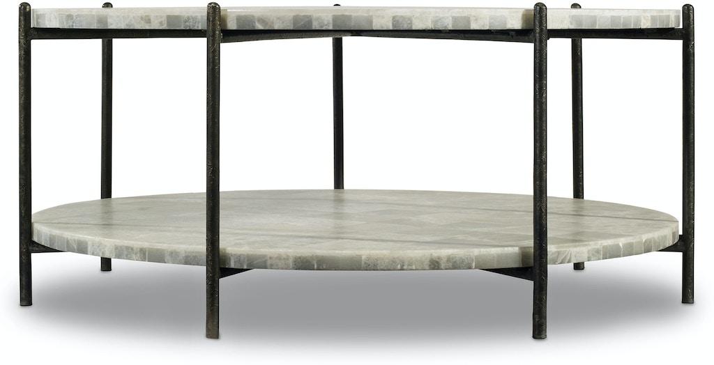 Hooker Furniture Living Room Melange Blythe Cocktail Table