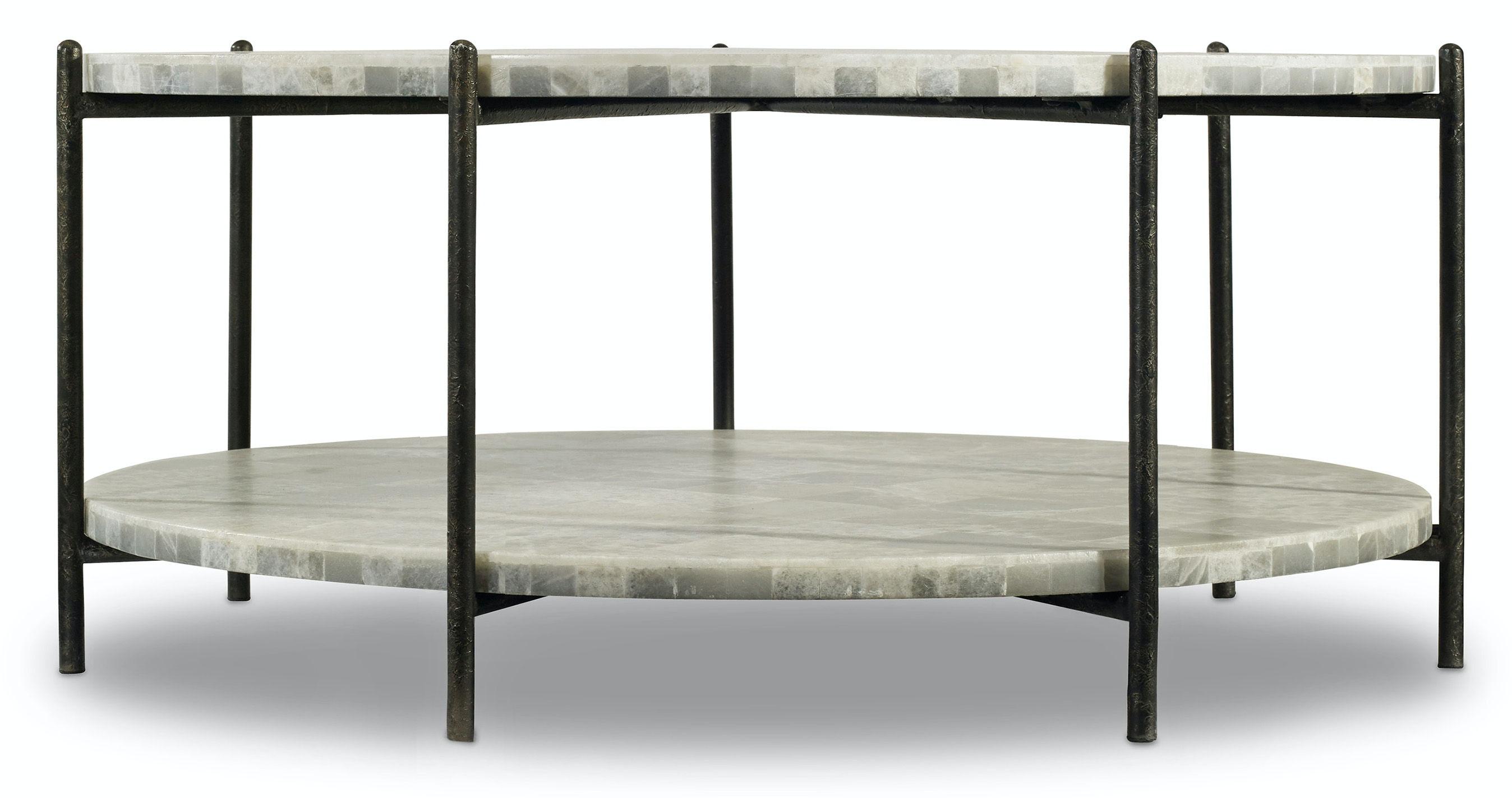 Hooker Furniture Melange Blythe Cocktail Table HS63850340WH From Walter E. Smithe  Furniture + Design