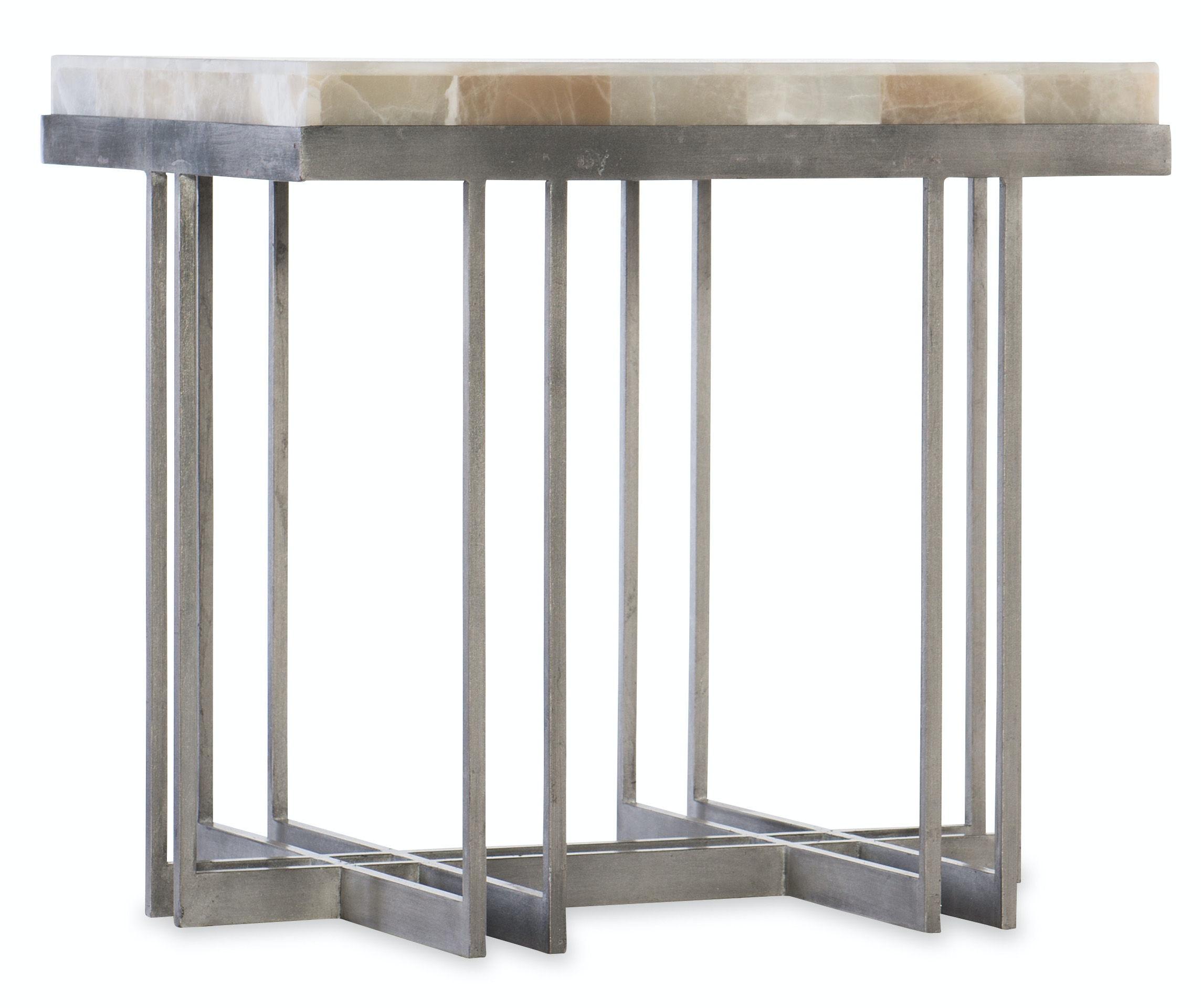 Melange Mona End Table 638 50394 MULTI