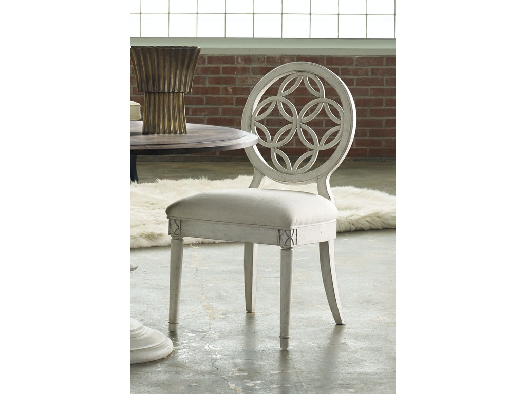 Hooker Furniture Dining Room Brynlee Side Chair 638 75006 Bowen Town And Country Furniture Co