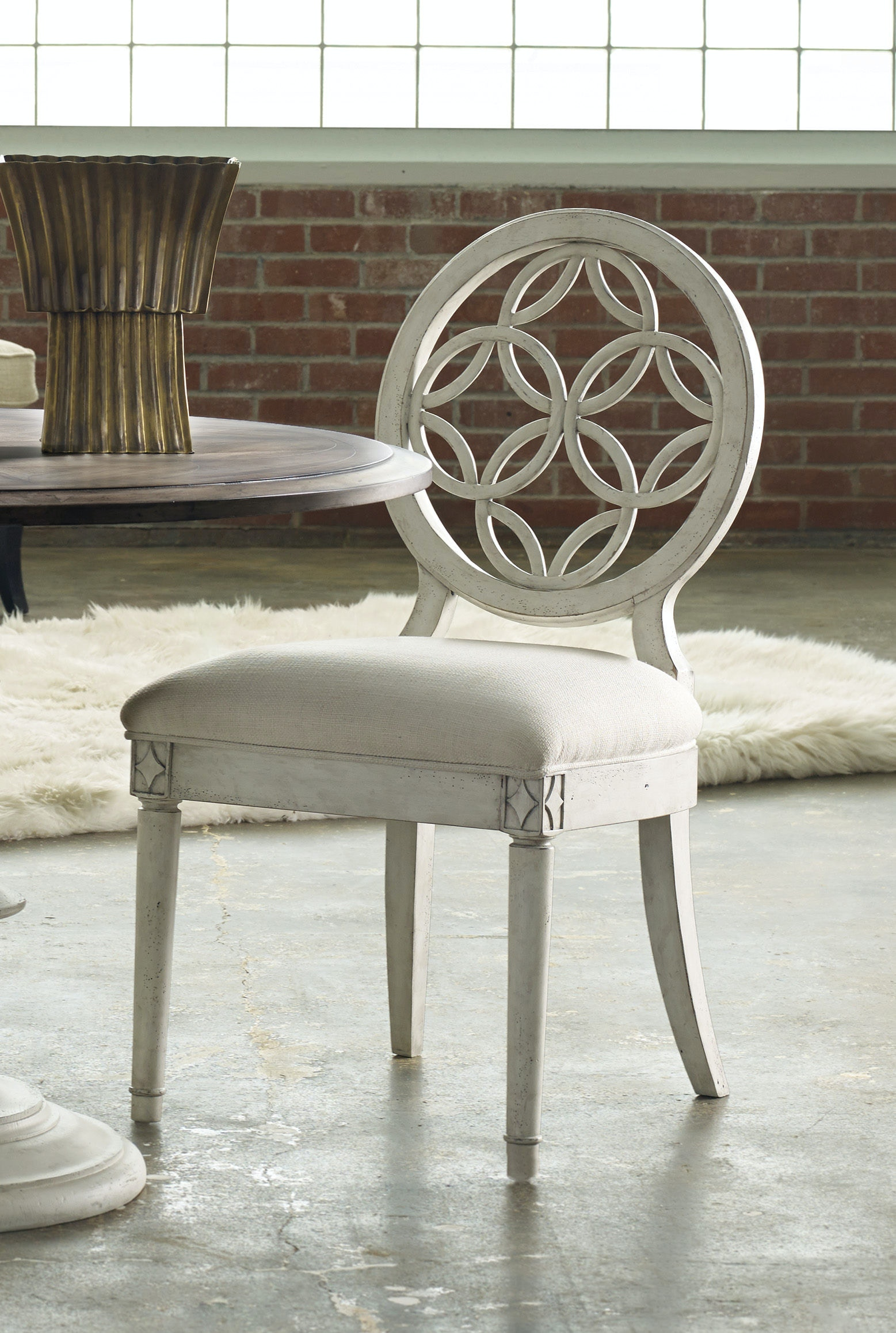 Wondrous Hooker Furniture Dining Room Melange Brynlee Side Chair 2 Beatyapartments Chair Design Images Beatyapartmentscom