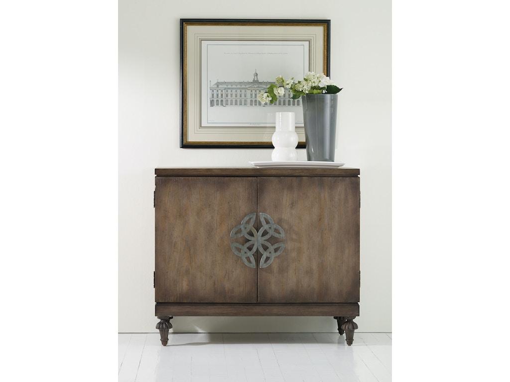 Hooker furniture living room melange savion chest 638 for Hooker furniture