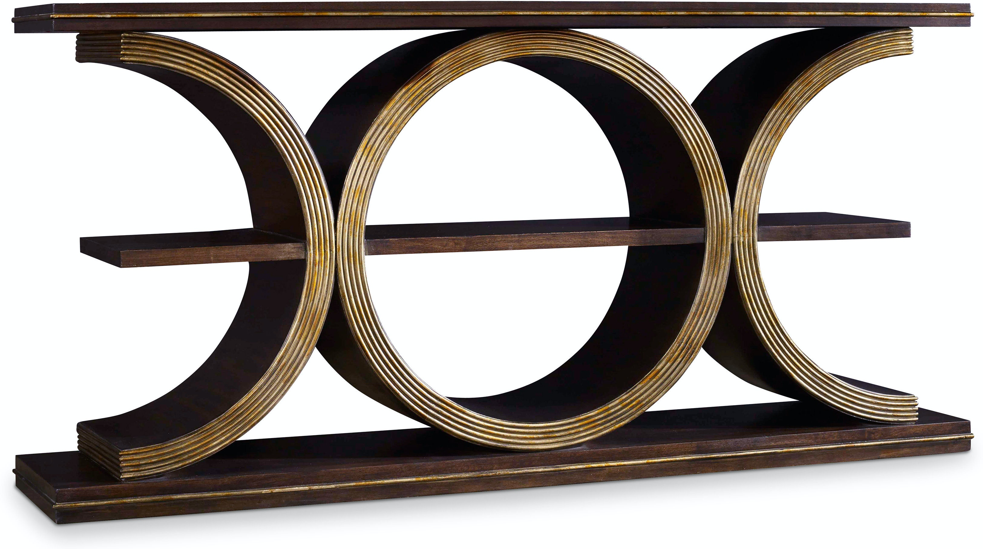 Hooker Furniture Living Room Melange Presidio Console Table 638 85219